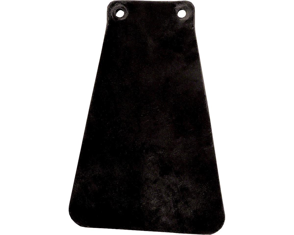 Velo Orange Handcut Leather Mud flap for Fender (Black)
