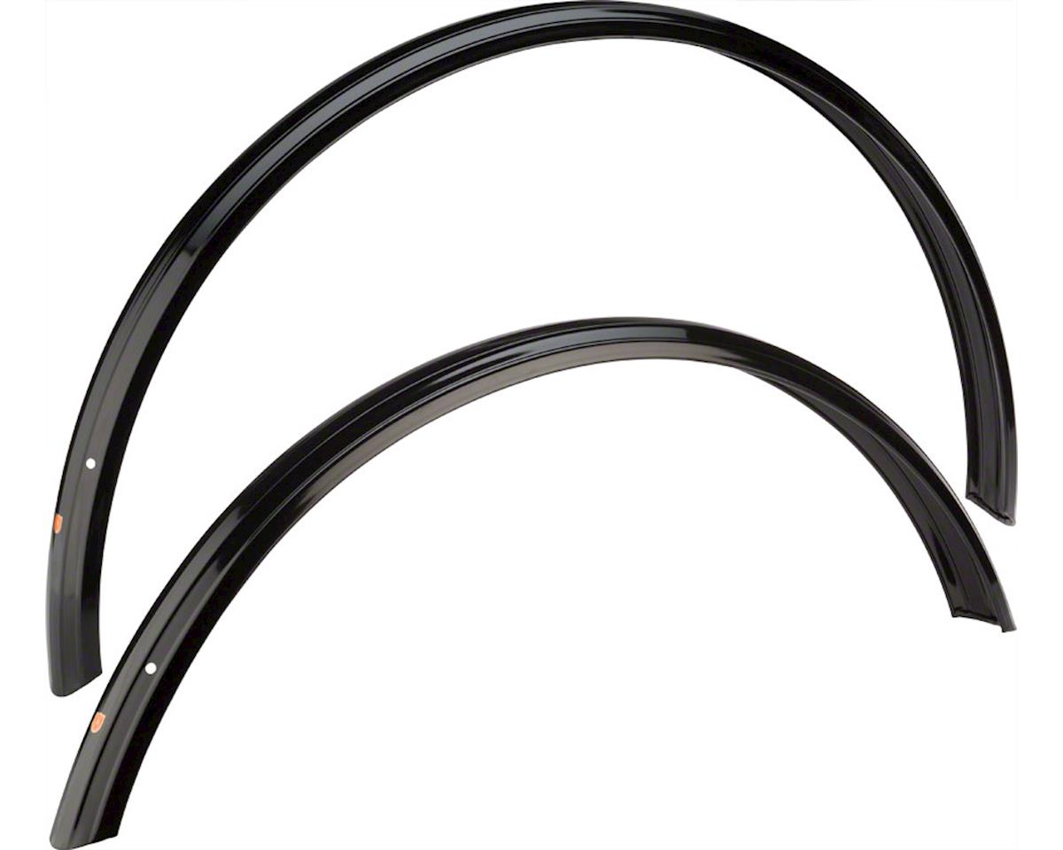 Velo Orange Zeppelin 650b x 52 Fender Set (Black) (650b x 35-42)