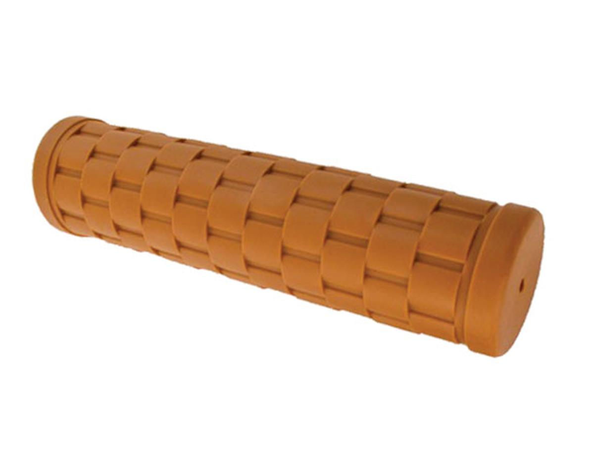 Velo Orange Basket weave grips - honey