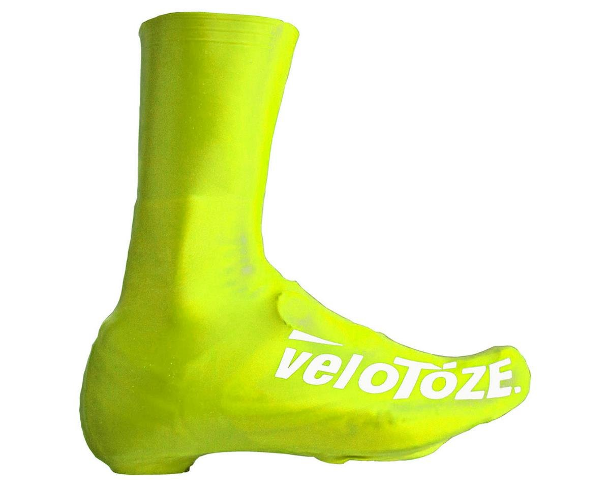 VeloToze Tall Shoe Covers (High Vis Yellow) (S)