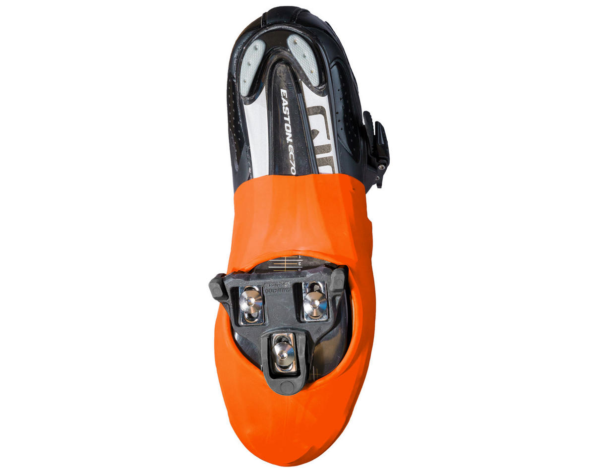 VeloToze Toe Cover (Viz Orange) (One Size)