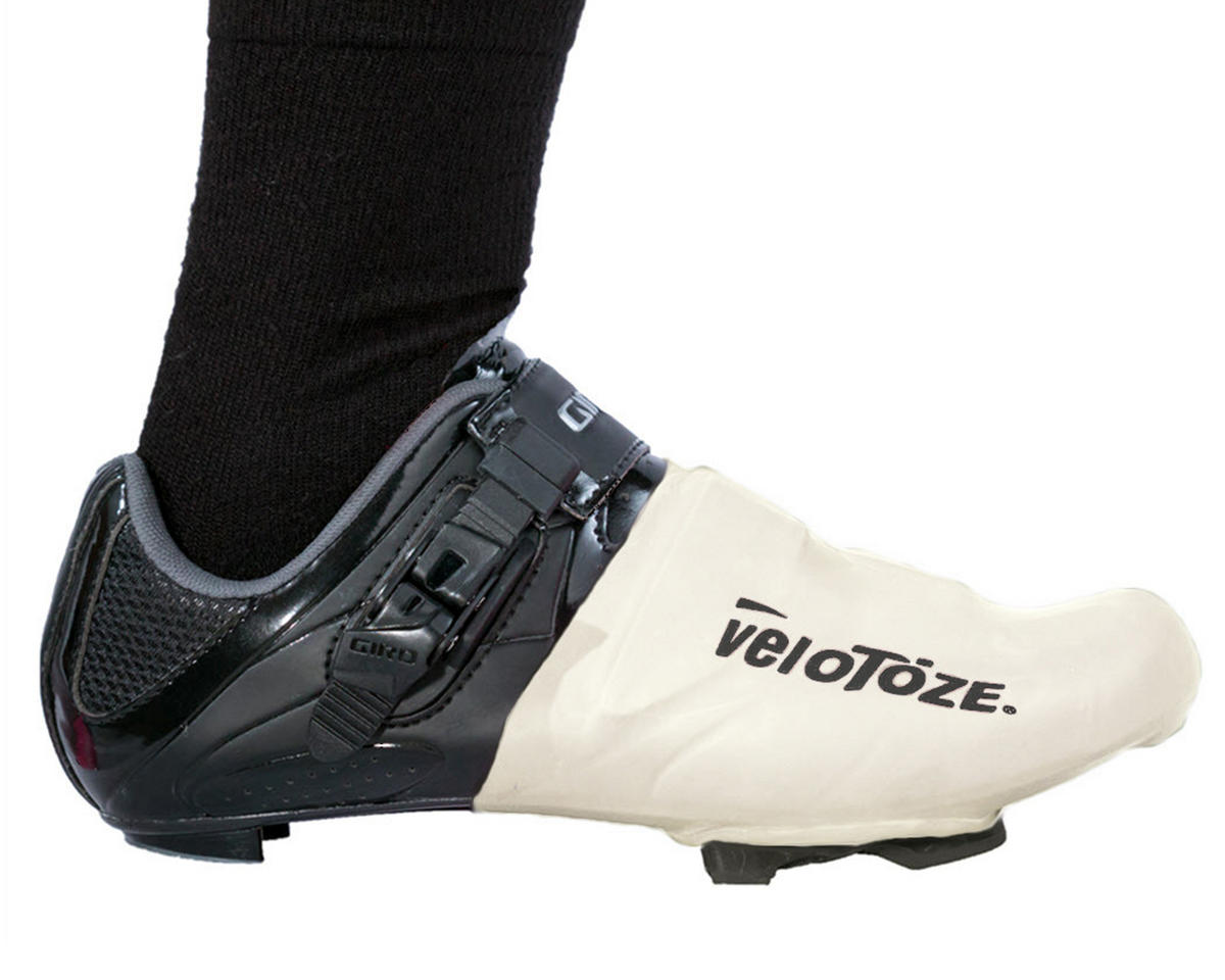 VeloToze Toe Cover (White) (One Size)