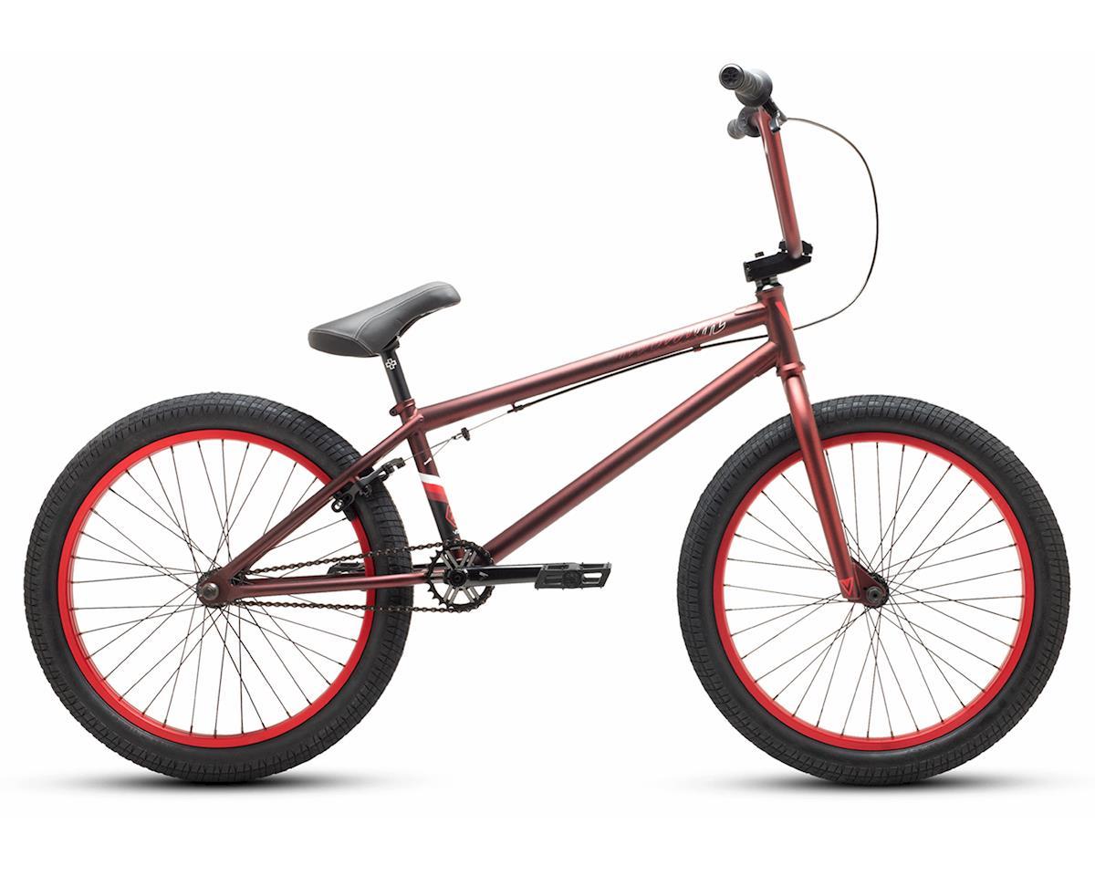 "Verde 2019 Spectrum 22"" BMX Bike (21.75"" Toptube) (Matte Deep Red)"