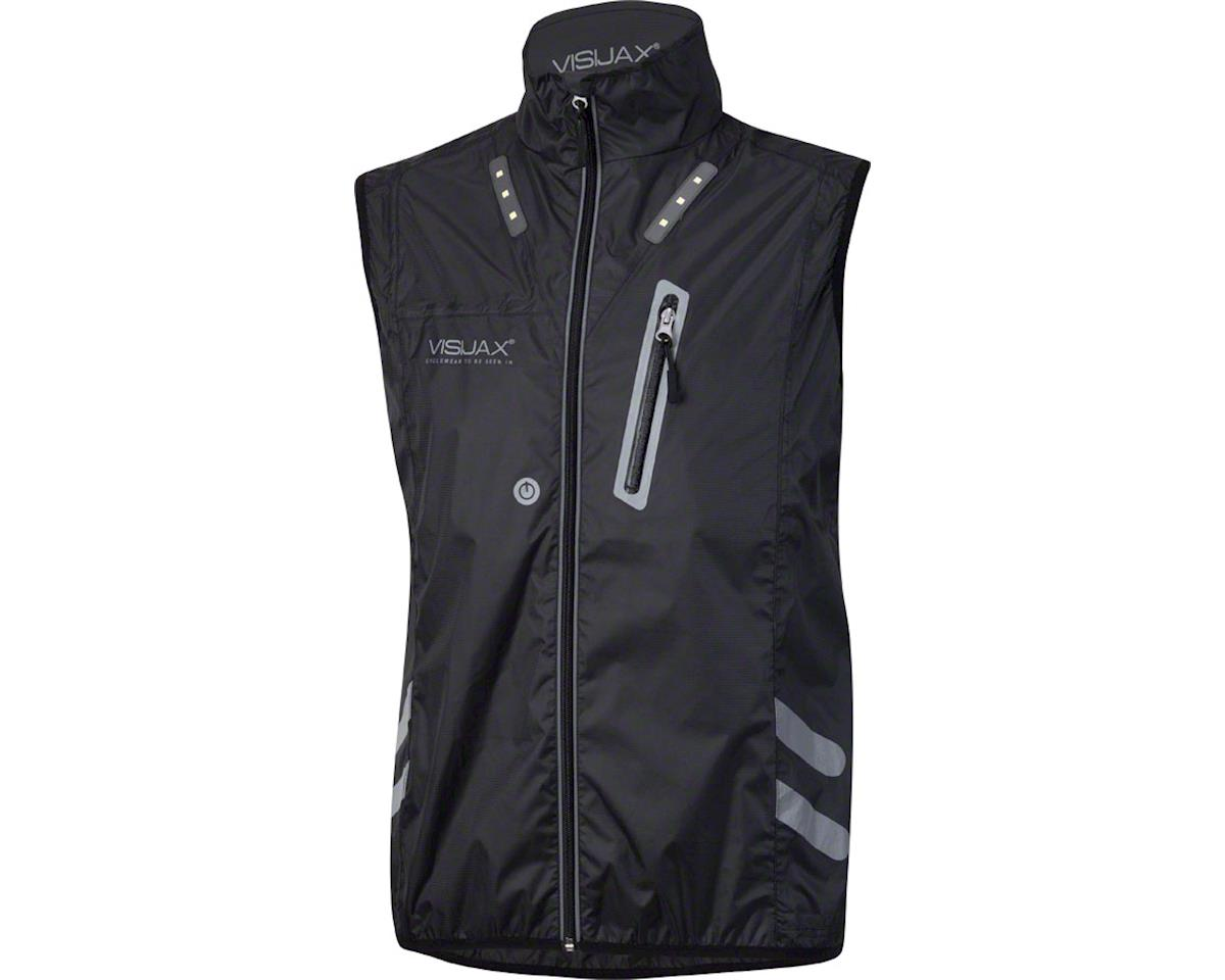 Visijax Gilet LED Unisex Vest: Black 2XL (2XL)