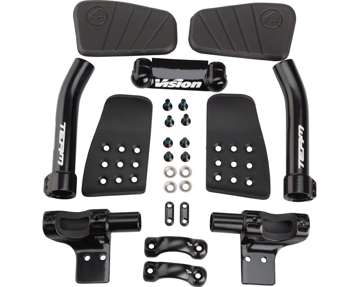 Team Mini Clip On Aero Bars Black