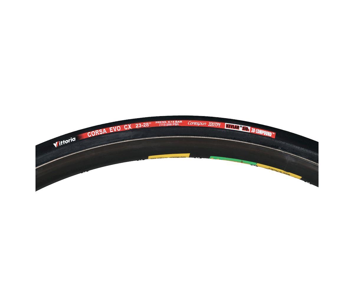 Vittoria Corsa Evo Cx 700X21c Tubular Tire Blue/Black