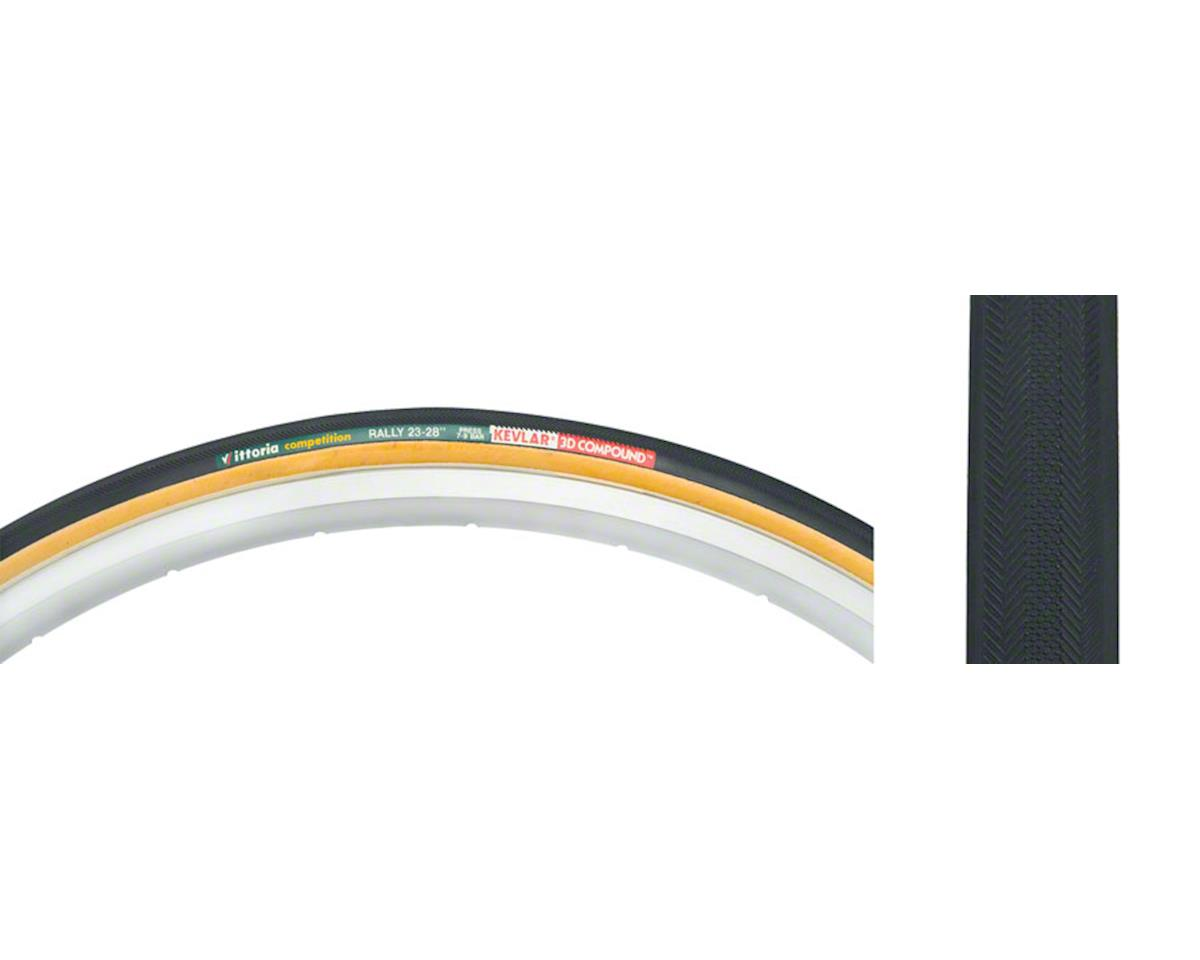 Vittoria Rally Tubular Tire (Black/Tan) (700 x 23)