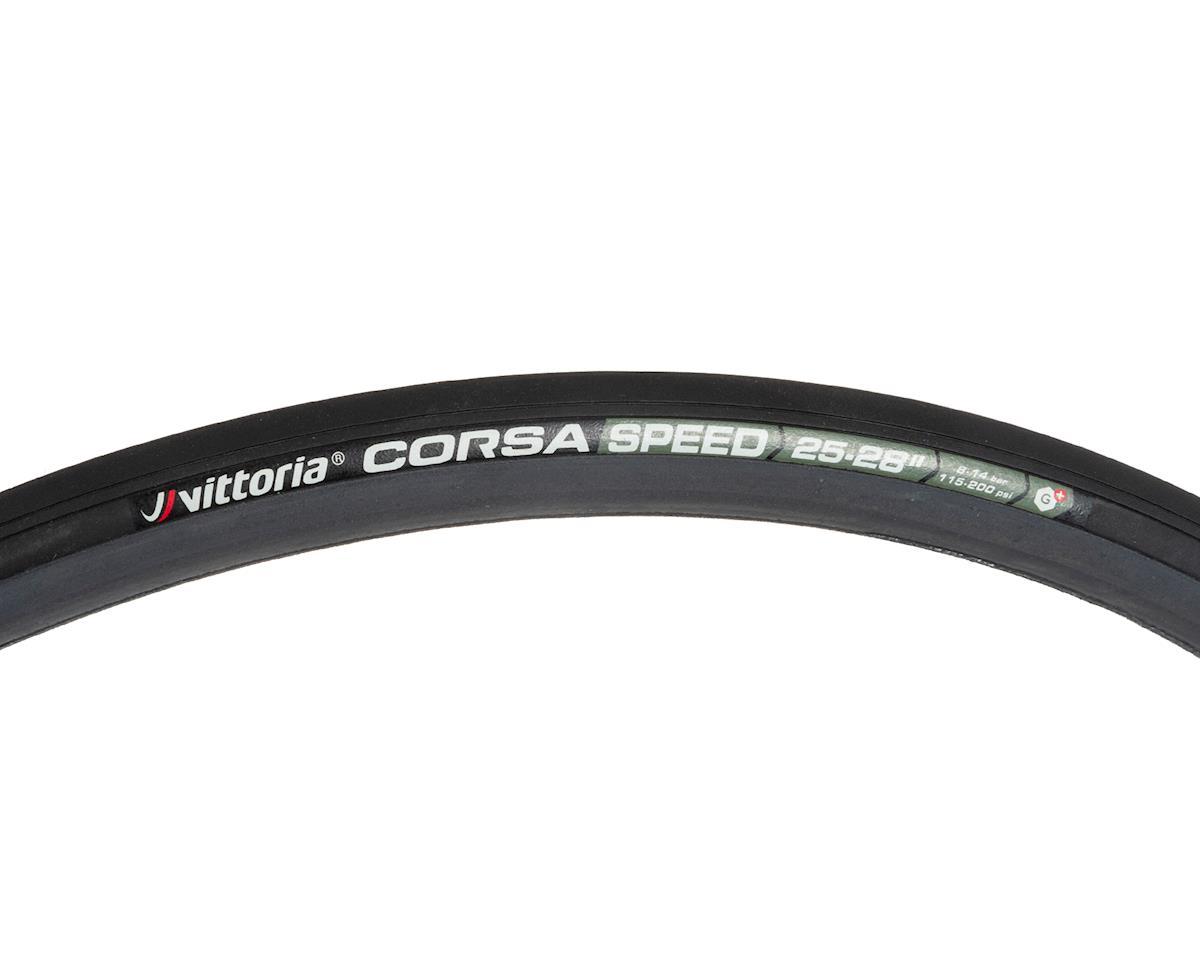 Vittoria Corsa Speed G+ Tubular (700x25) (Black/Grey)