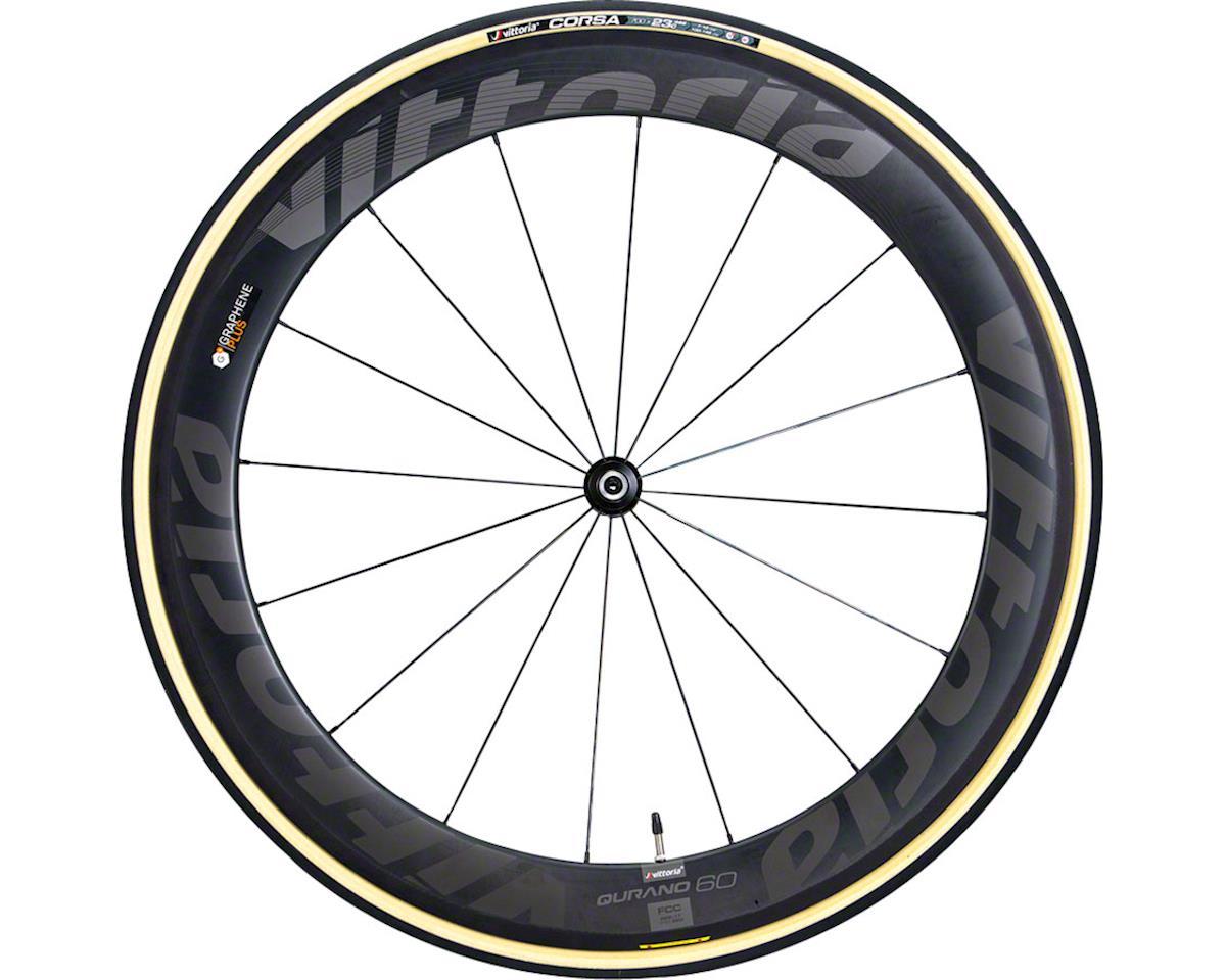 Image 2 for Vittoria Corsa G+ Tubular Tire (Black/Tan)