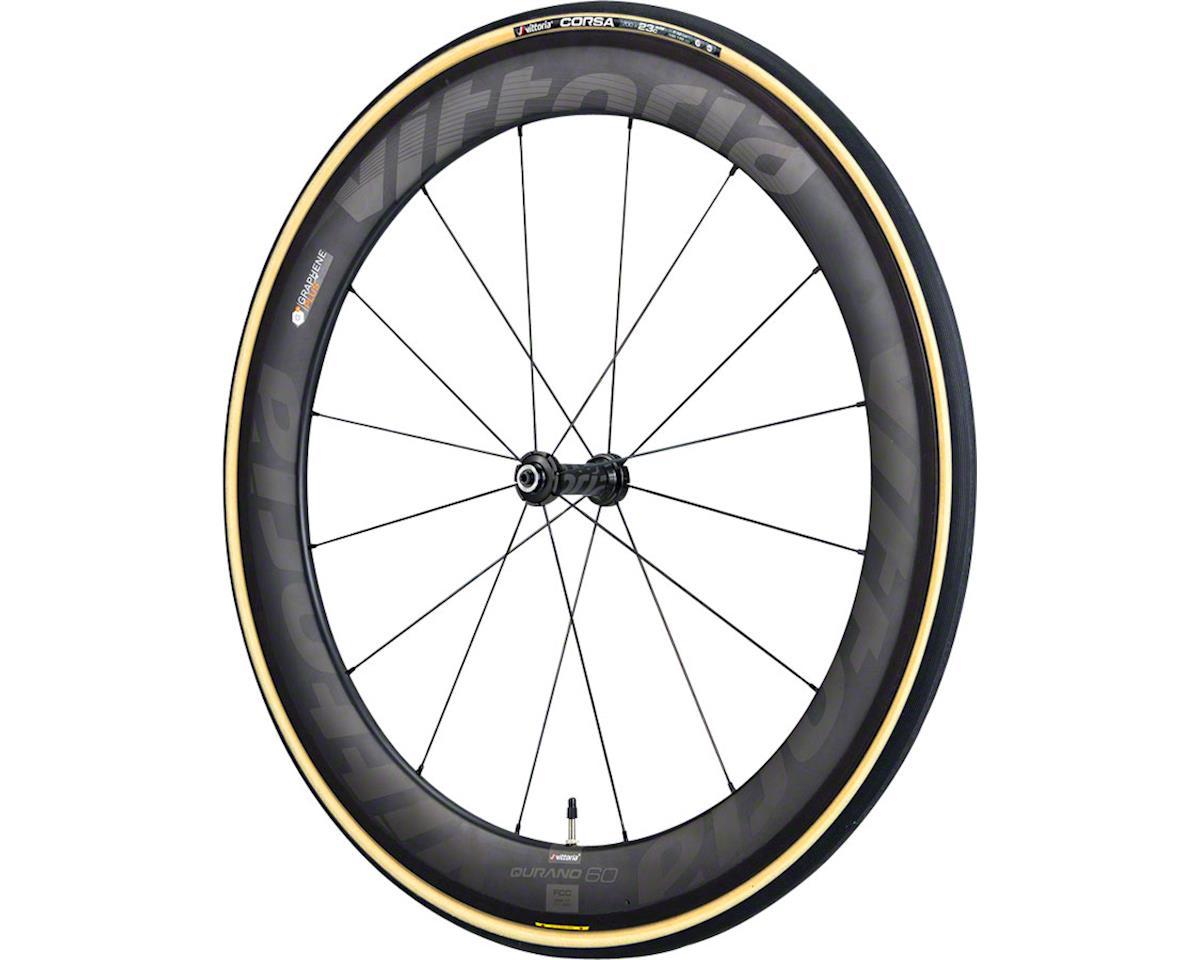 Vittoria Corsa G+ Tubular Tire (Black/Tan) (700 x 25)