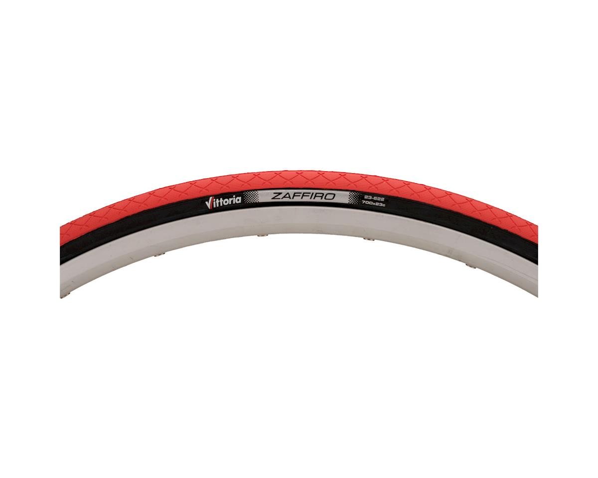 Image 3 for Vittoria Zaffiro Road Tire - 700x23 (Red)