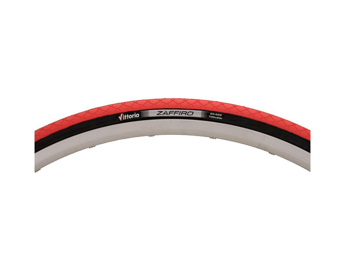 Vittoria Zaffiro II Road Tire (Red/Black) (700 x 25)