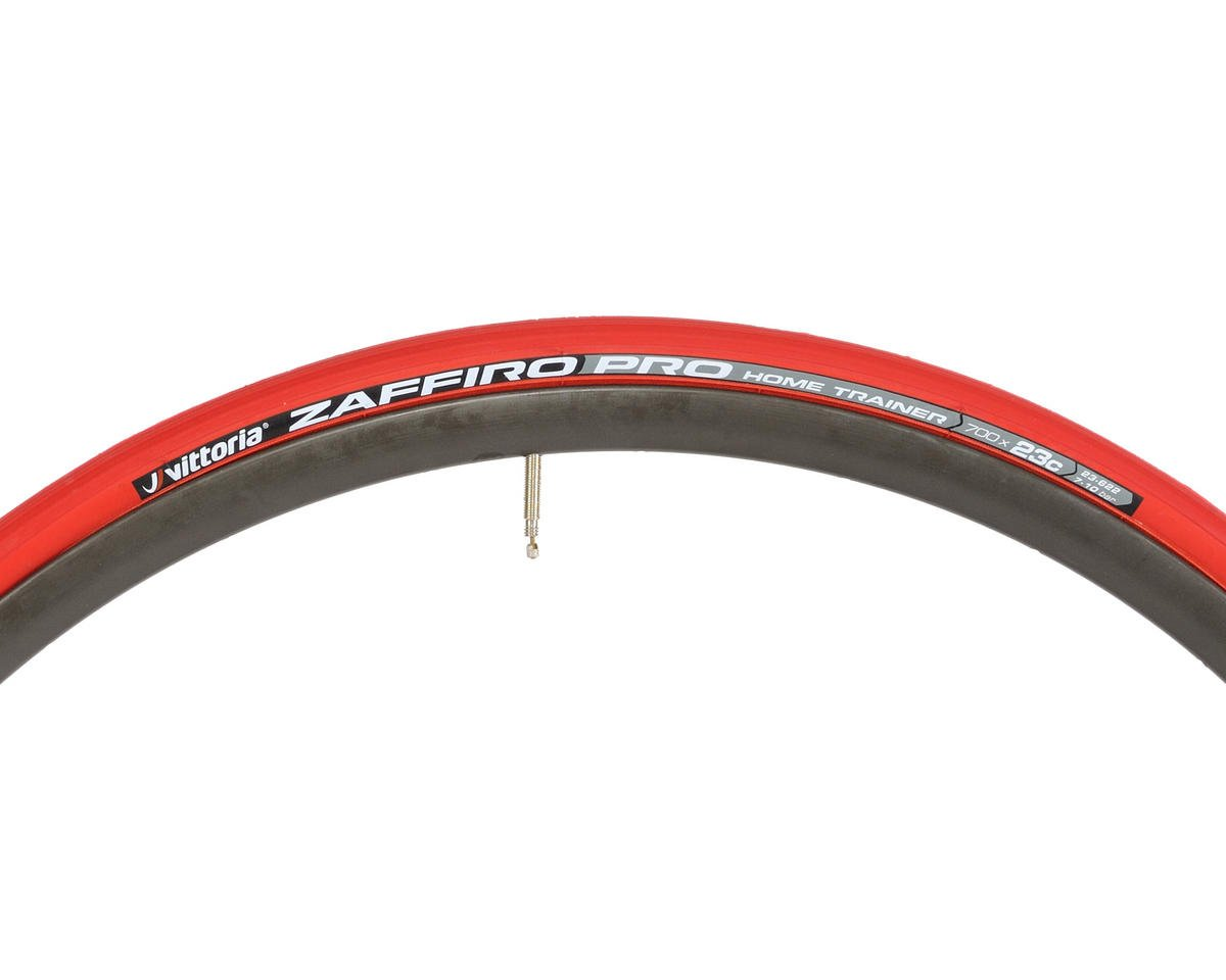 Vittoria Zaffiro Pro Home Trainer Tire Folding (Red) (700 x 23)