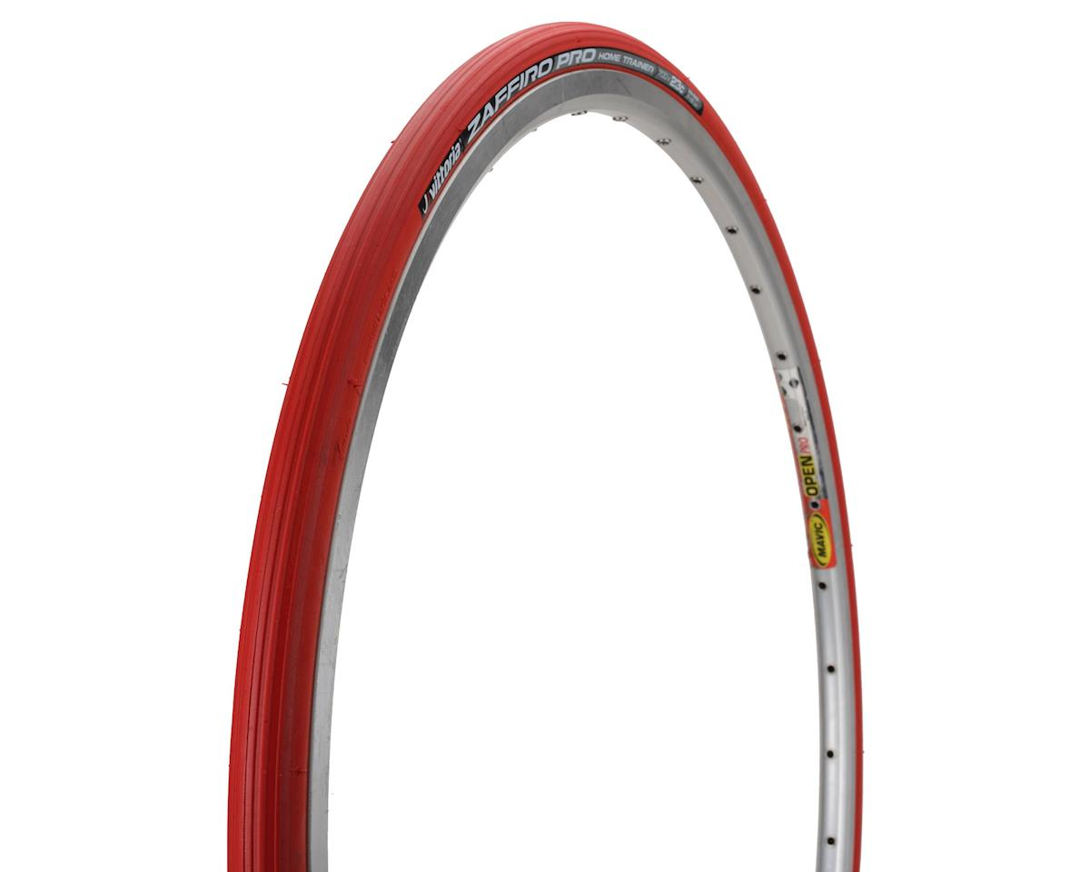 Zaffiro Pro Home Trainer Tire: Folding Clincher, 29x1.35, Red
