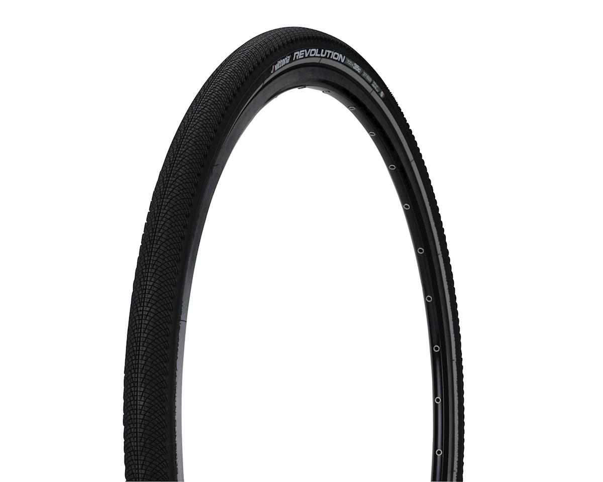 Revolution G+ Tire: Wire Bead, 700x32, Black/Reflective