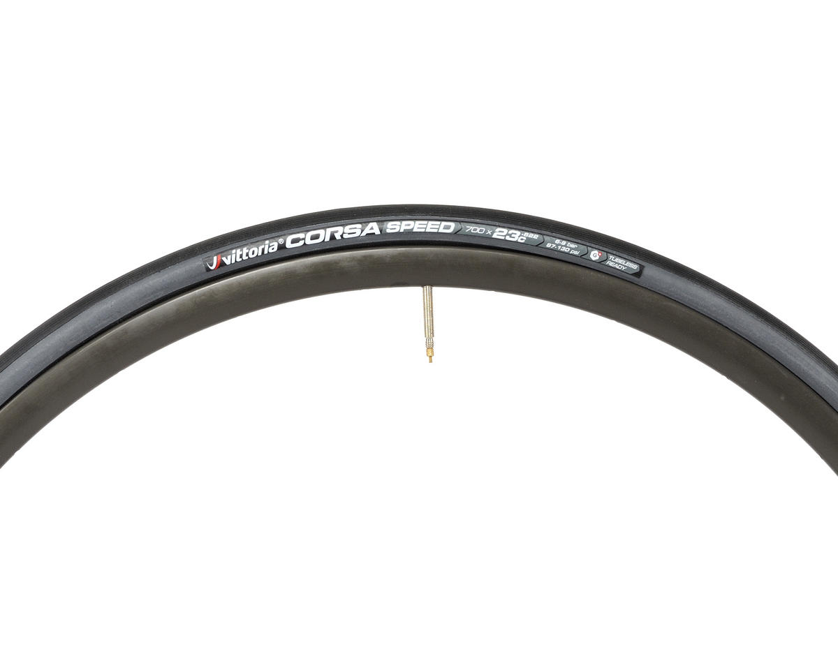 Vittoria Corsa Speed G+ TLR (Tubeless Clincher) (700 x 23)