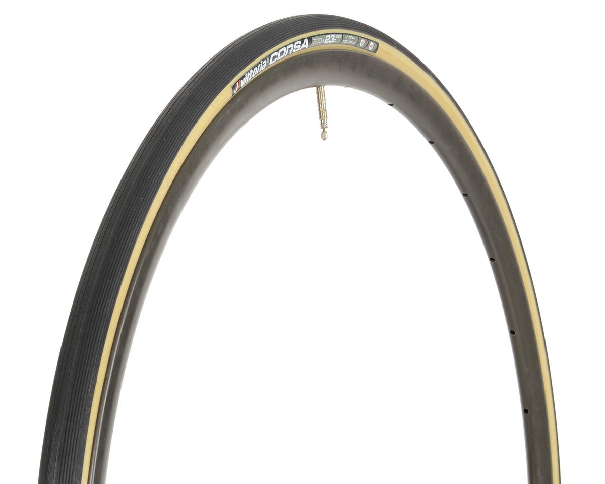 Vittoria Corsa G+ Competition Tire (Folding) (Skinwall)