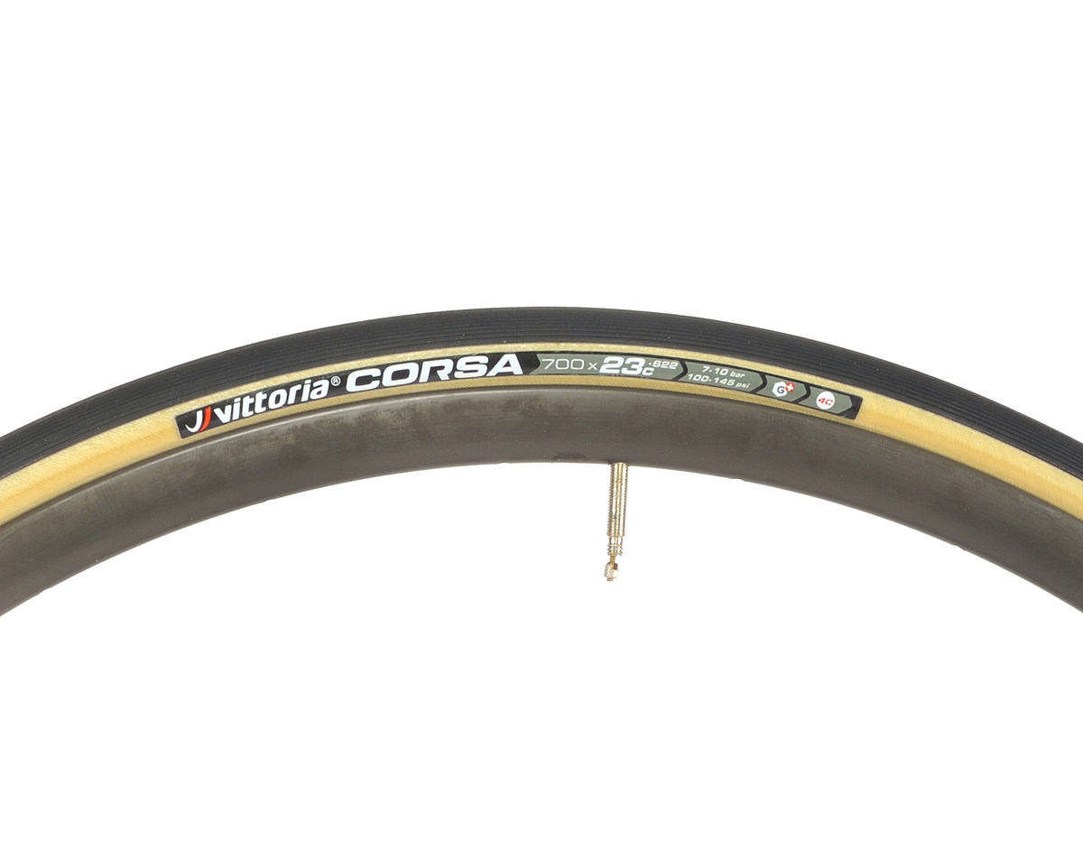 Image 3 for Vittoria Corsa G+ Competition Tire (Folding) (Skinwall)