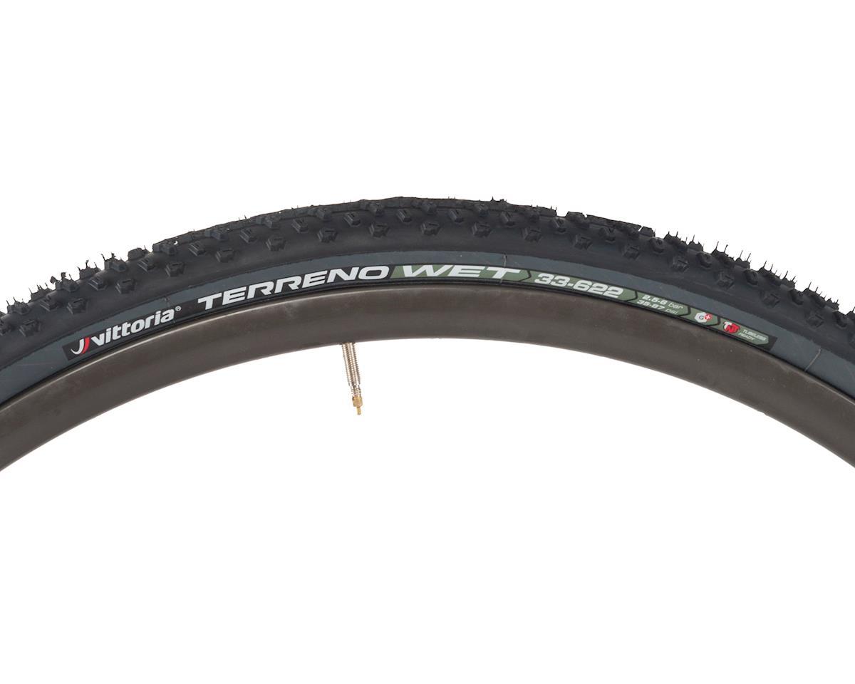 Vittoria Terreno Wet TNT G+ Gravel Clincher Tire (Black/Anthracite) (700 x 33)