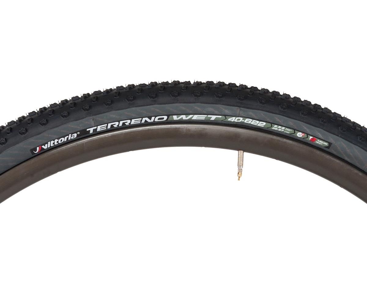 Vittoria Terreno Wet TNT G+ Gravel Clincher Tire (Black/Anthracite) (700 x 40)
