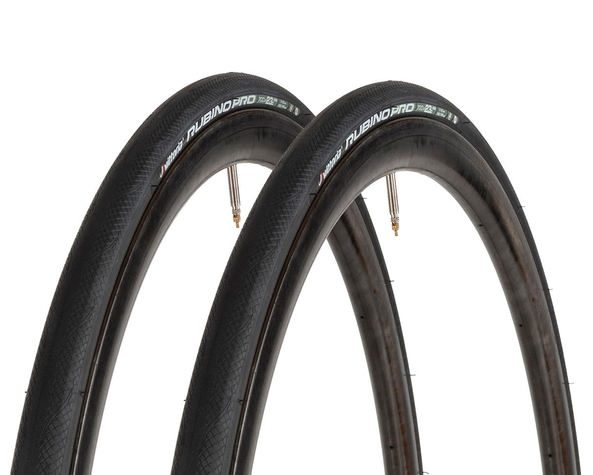 Vittoria Rubino Pro IV G+ Road Tire (Folding) (2 pack) (700 x 23)