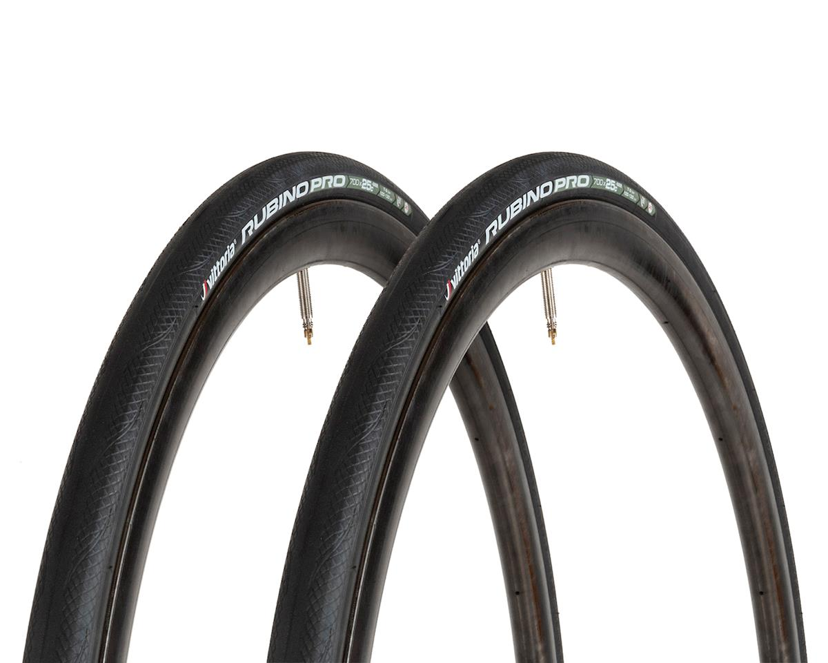 Vittoria Rubino Pro IV G+ Road Tire (Folding) (2 Pack) (700 x 25)