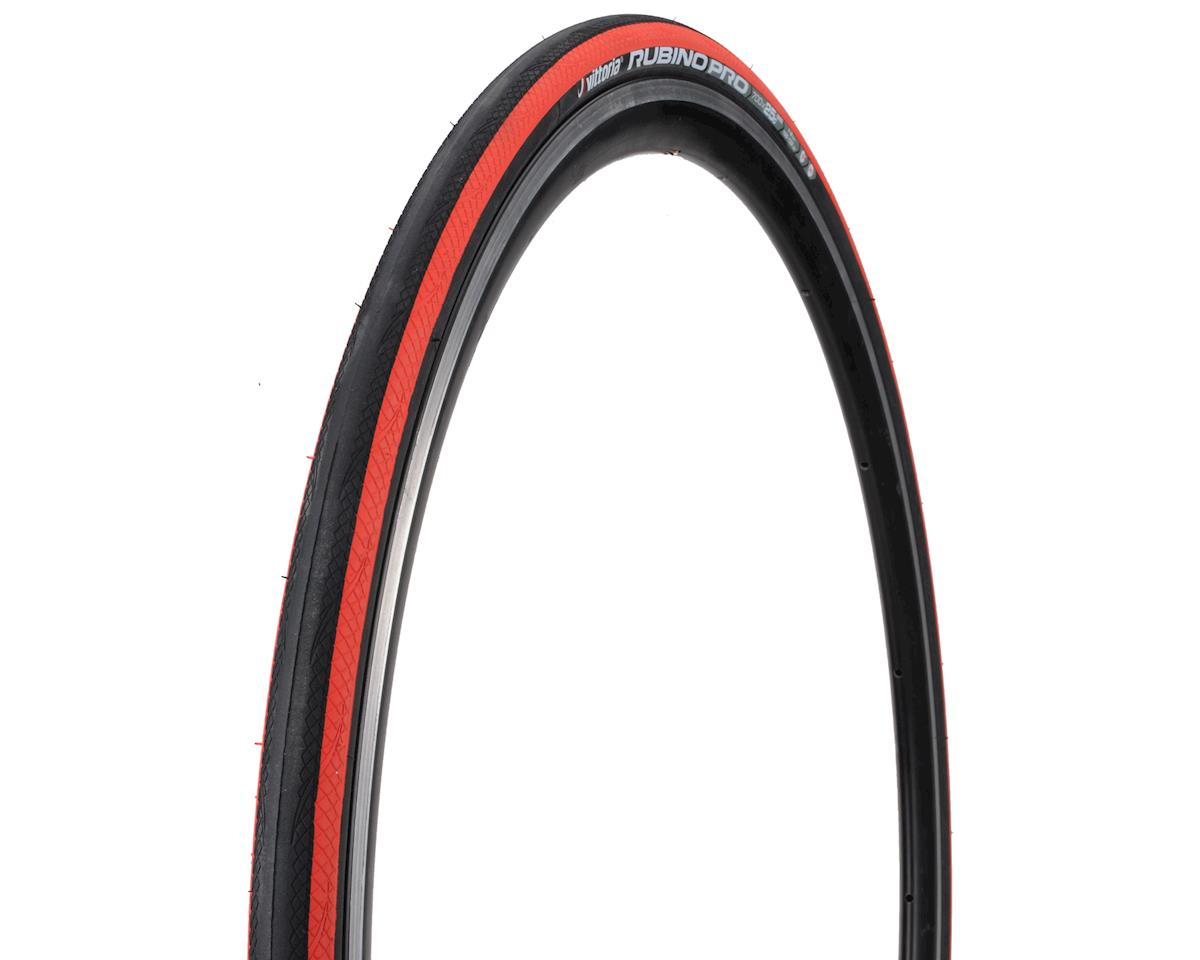 Vittoria Rubino Pro G+ Tire (Folding Clincher) (Red/Black/Red) (700 x 25)