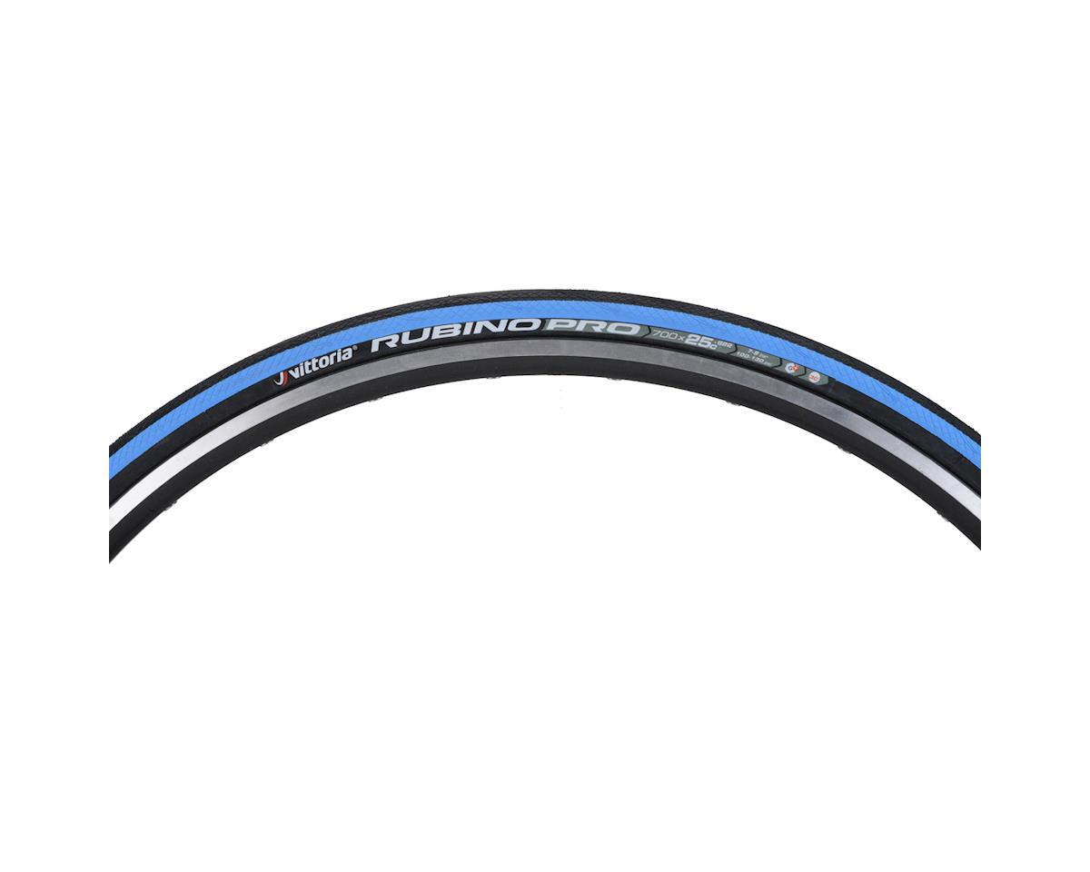Vittoria Rubino Pro G+ Tire (Folding Clincher) (Blue/Black/Blue) (700 x 25)