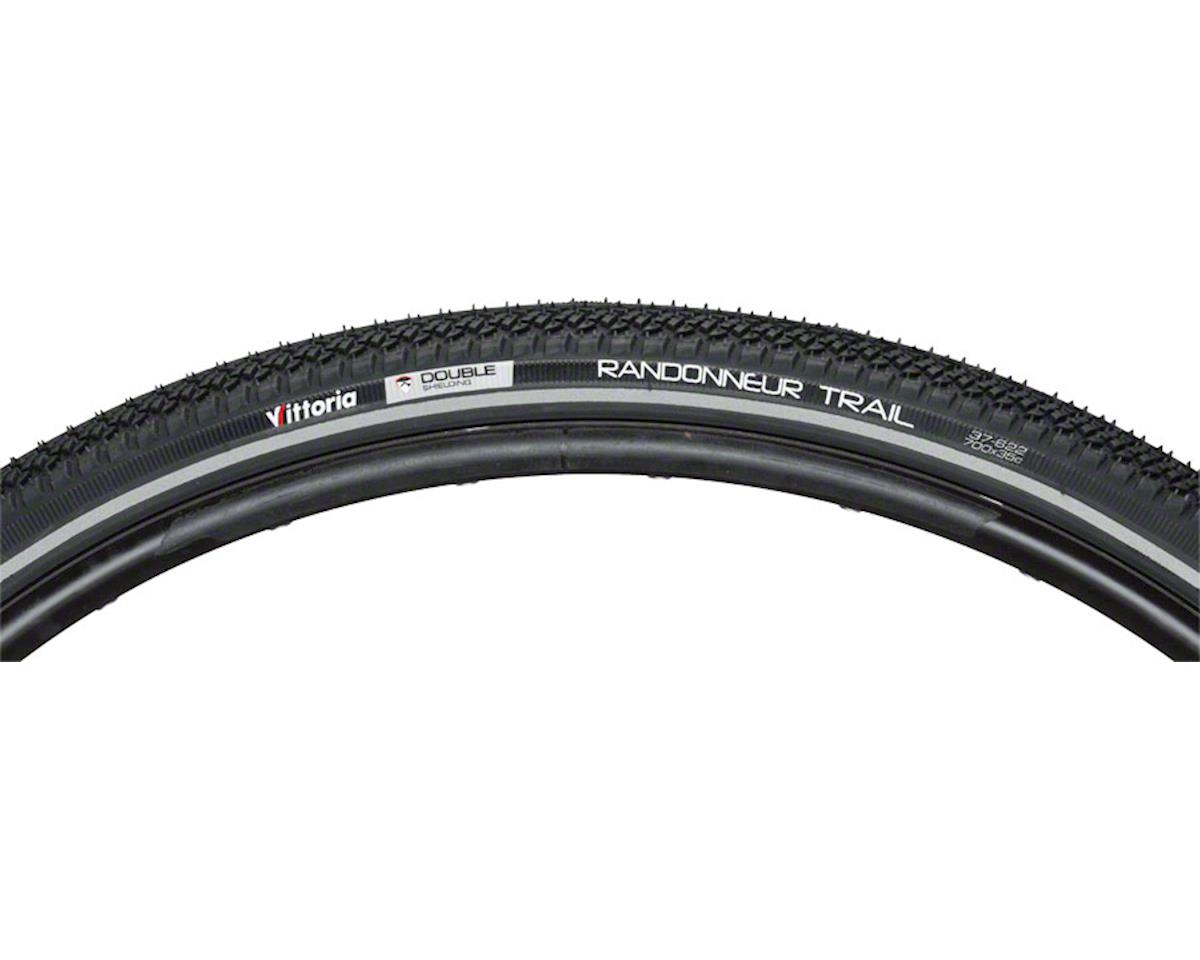 Vittoria Randonneur Trail Tire: Wire Bead, 700x35, Black