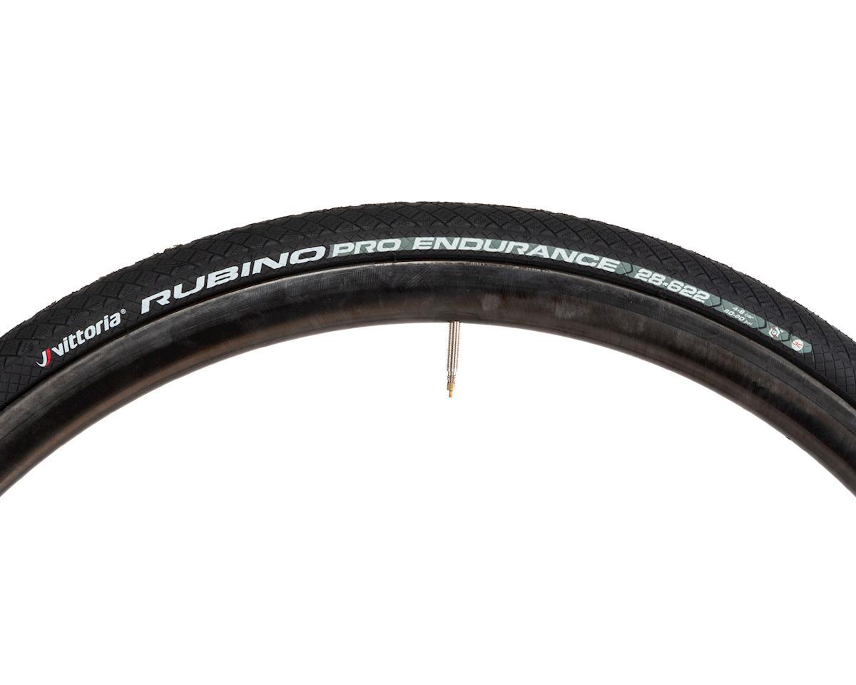 Vittoria Rubino Pro Endurance G+ Clincher Tire (Black) (700x28)