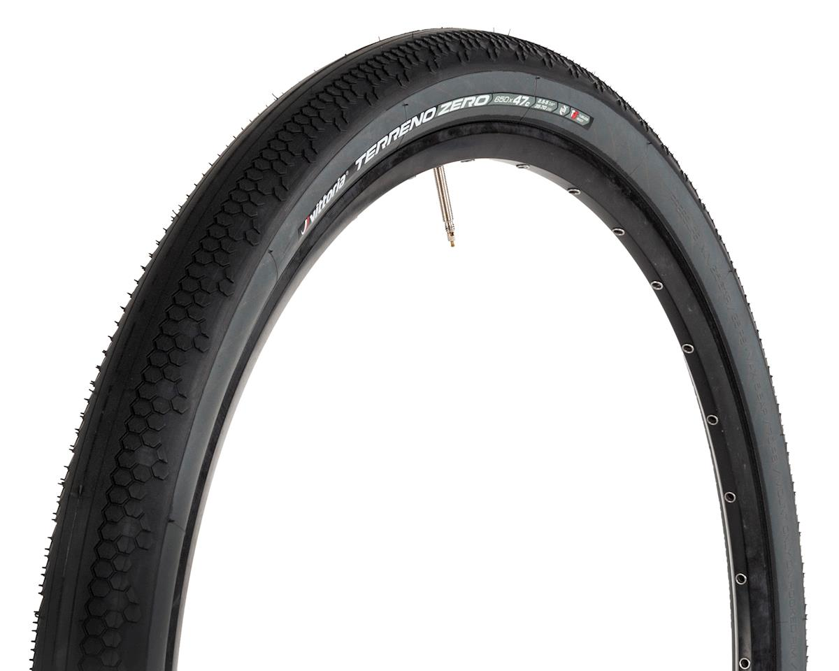 Vittoria Terreno Zero TNT G+ Cyclocross Tire (Black/Anthracite) (650 x 47)