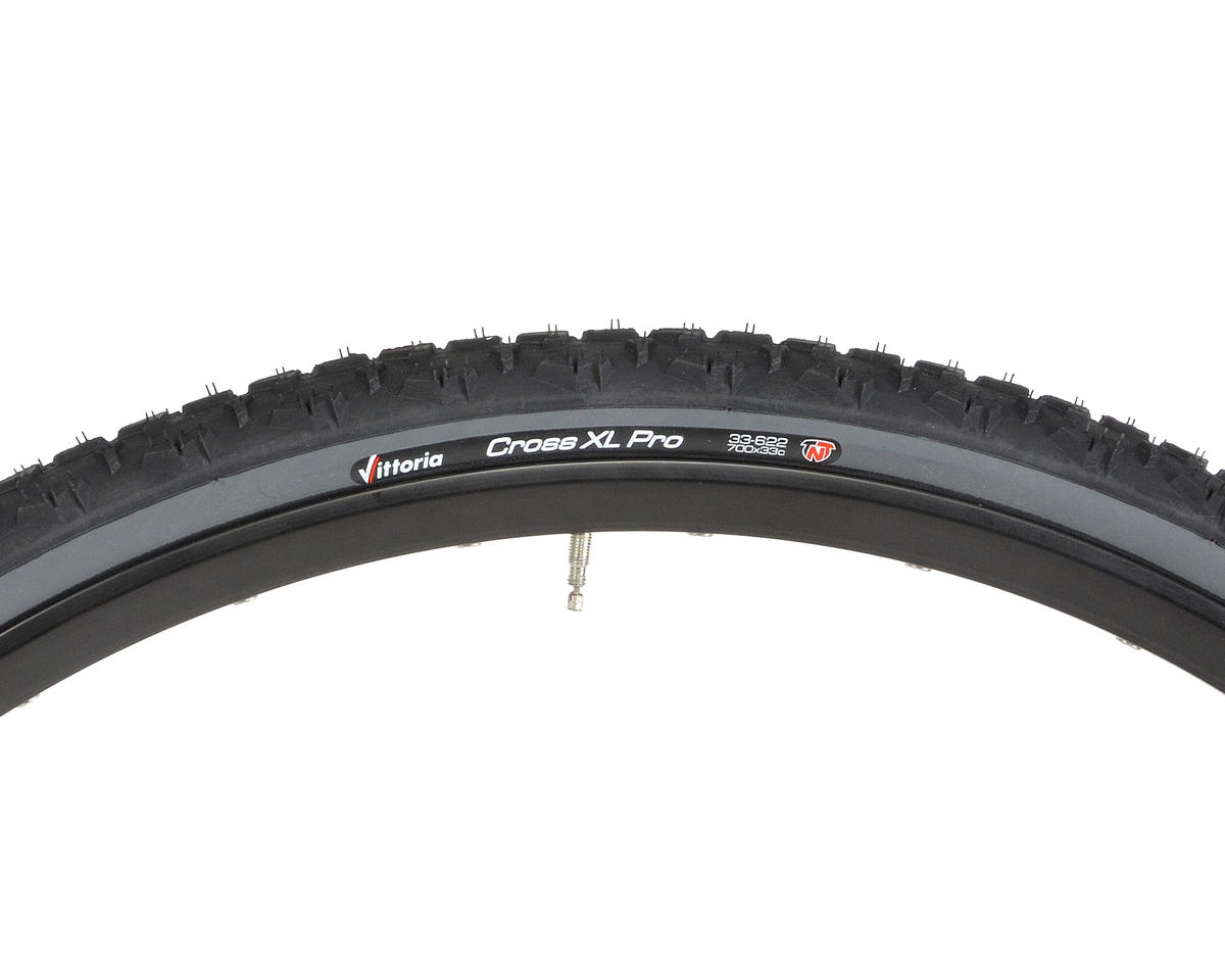 Vittoria Cross XL Pro TNT CX Tire Folding (Anthracite/Black) (700 x 33)