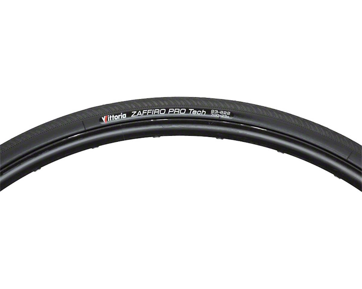Vittoria Zaffiro Pro Tech III Tire: Folding Clincher, 700x23, Black