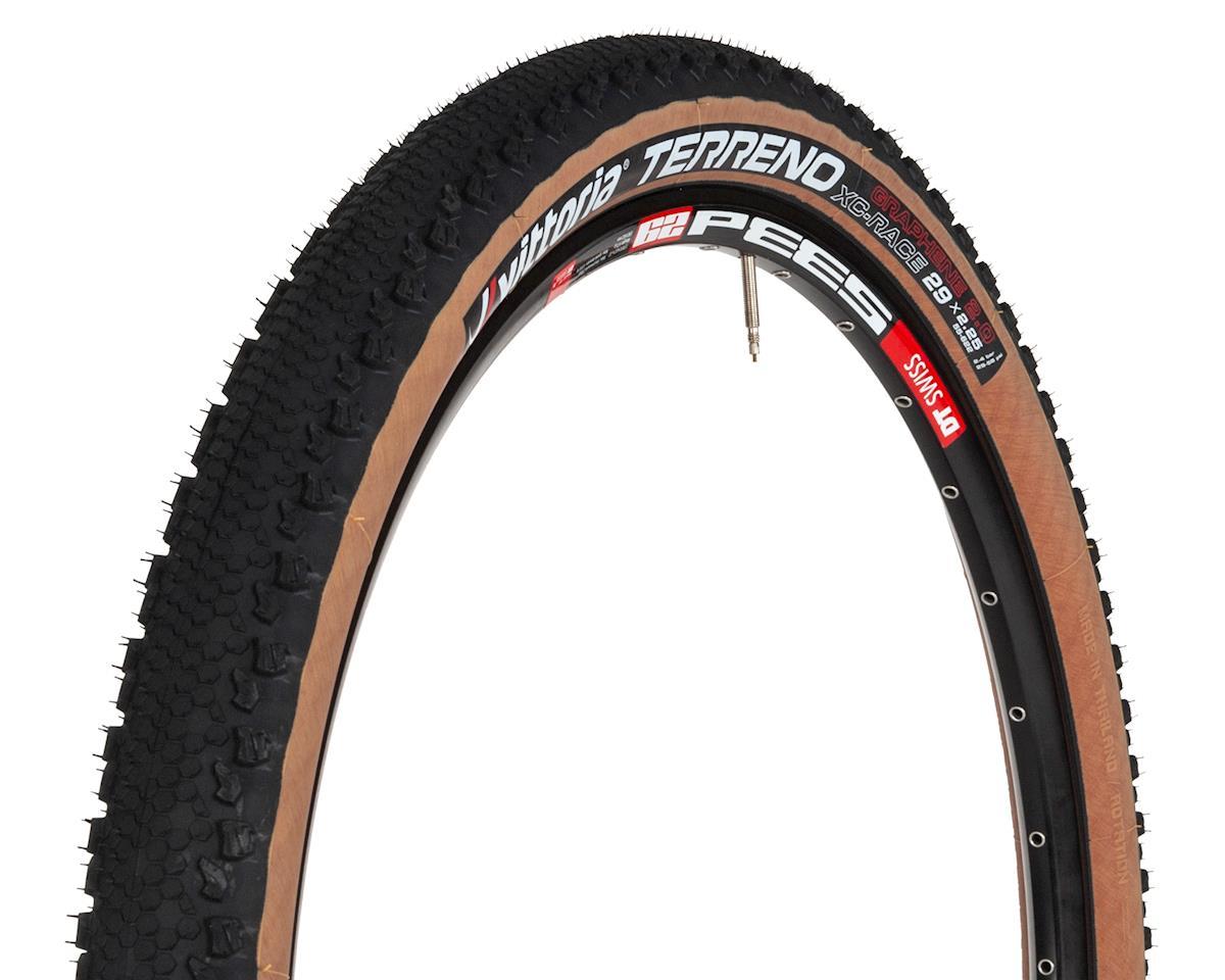 Image 1 for Vittoria Terreno Graphene 2.0 Tubeless MTB Tire (Black/Tan) (29 x 2.25)