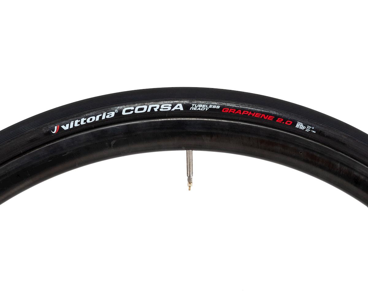 Image 3 for Vittoria Corsa G2.0 TLR Competition Race Tire (Full Black) (700 x 25)