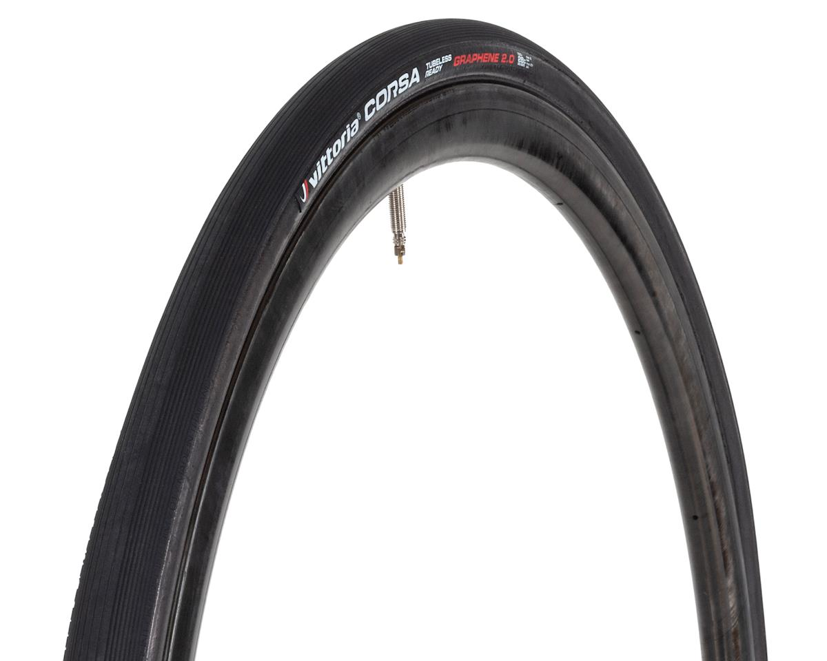 Vittoria Corsa G2.0 TLR Competition Race Tire (Full Black) (700 x 28)