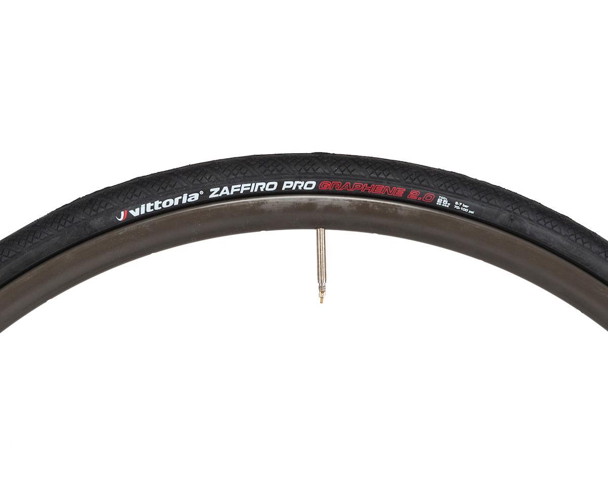 Vittoria Zaffiro Pro IV G2.0 Road Tire (Black) (700 x 25)