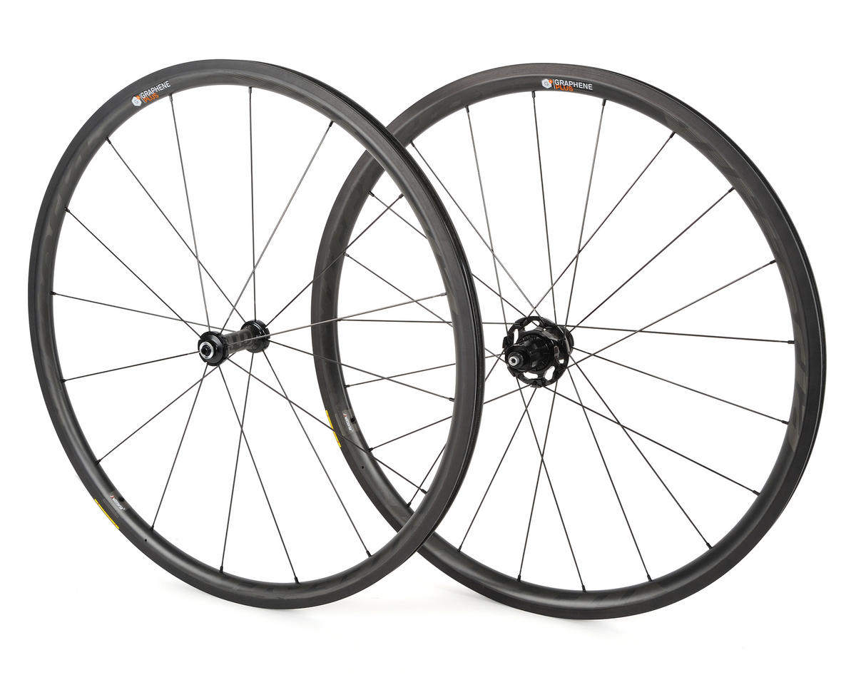 Qurano 30 Carbon Clincher Tubeless Road Wheelset
