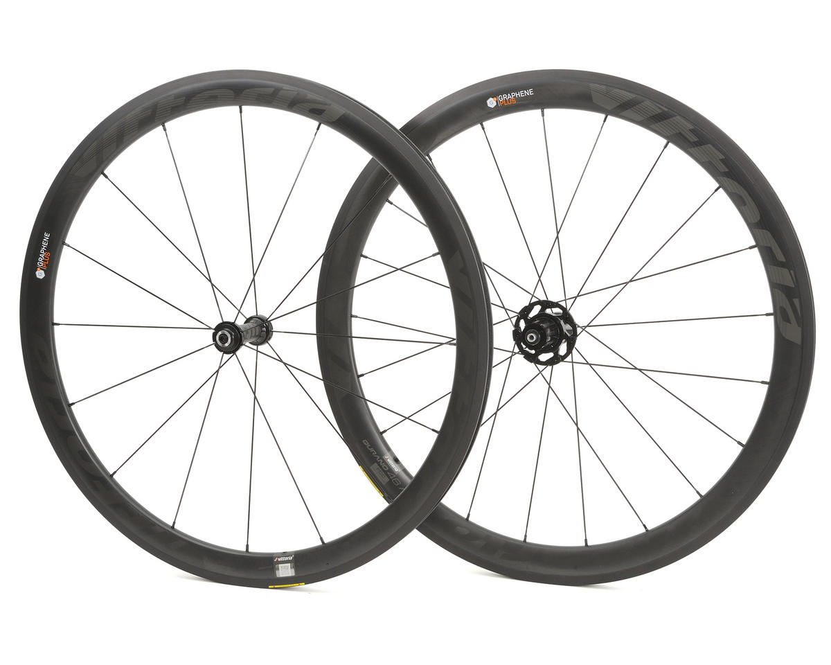 Vittoria Qurano 46 Carbon Clincher Tubeless Road Wheelset