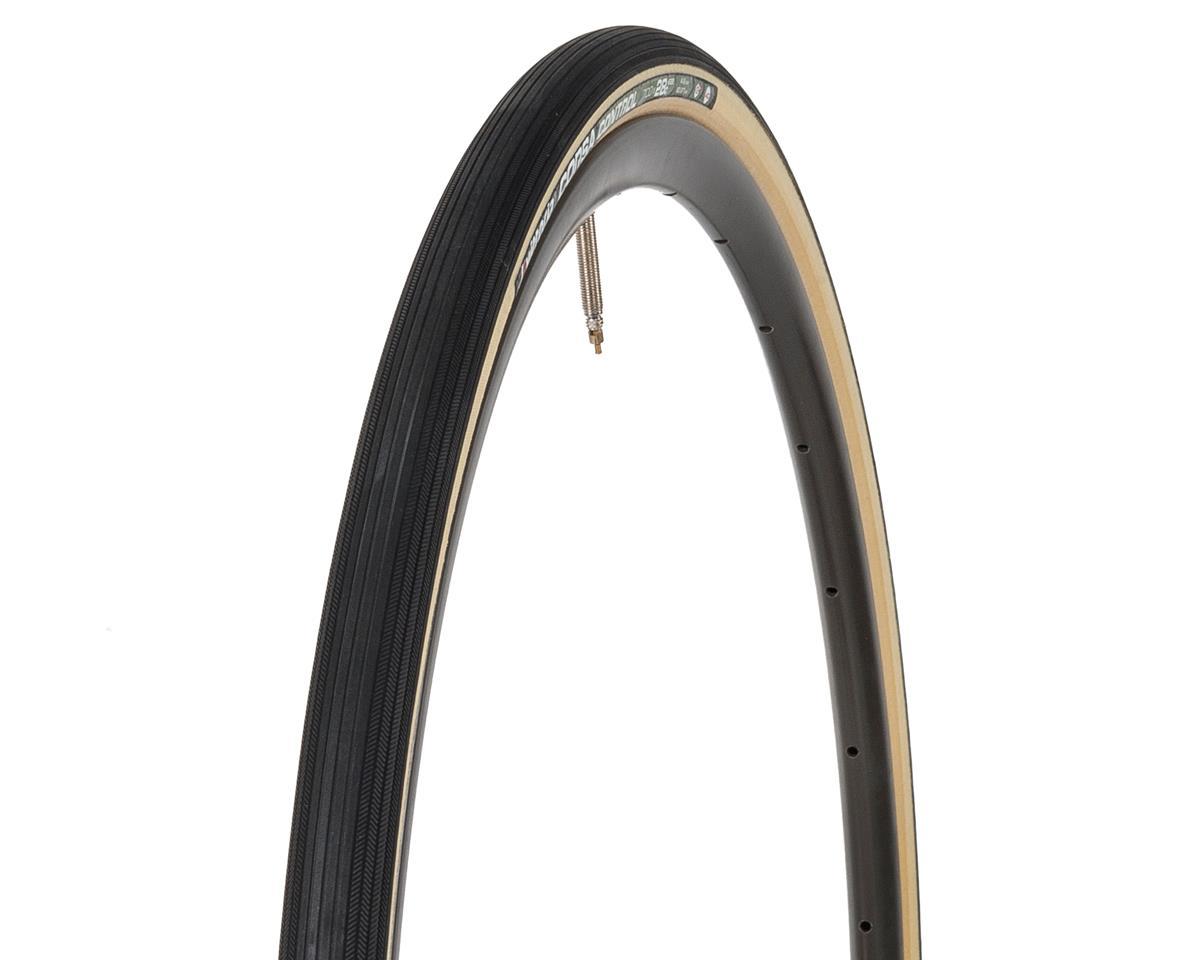 Vittoria Corsa Control G 700 x 28C Clincher black para Tan Skinwall bike Tire