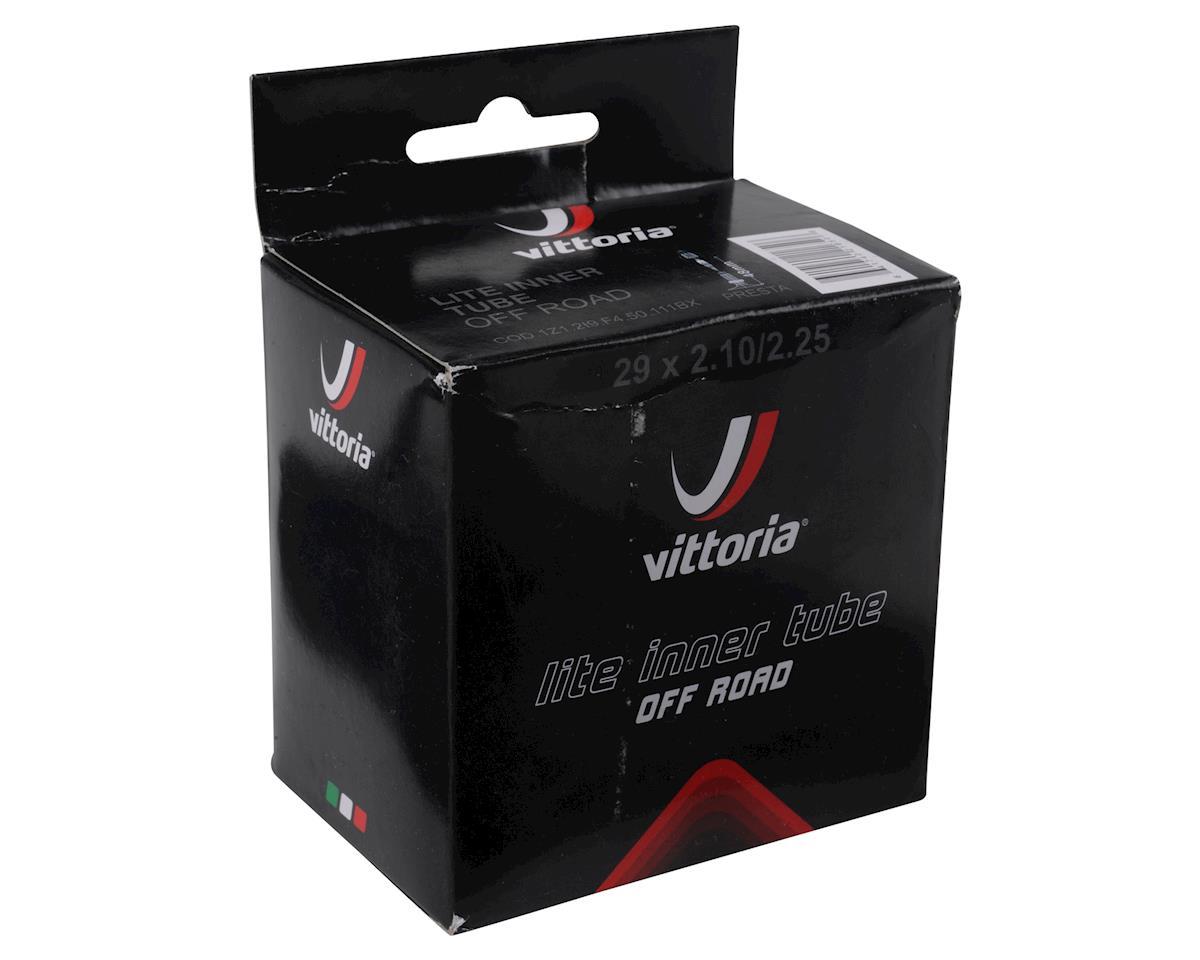 """Image 2 for Vittoria MTB Lite 29"""" 48mm Presta Tube (Black) (29X2.1/2.25)"""