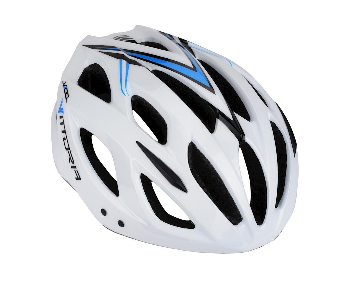 Image 1 for Vittoria V100 Helmet (White/Black/Blue)