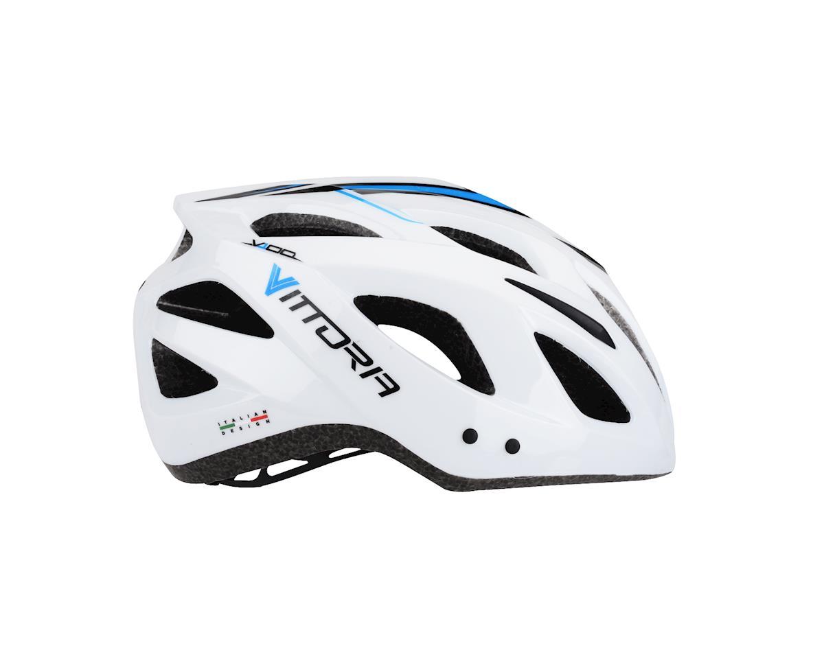 Image 2 for Vittoria V100 Helmet (White/Black/Blue)