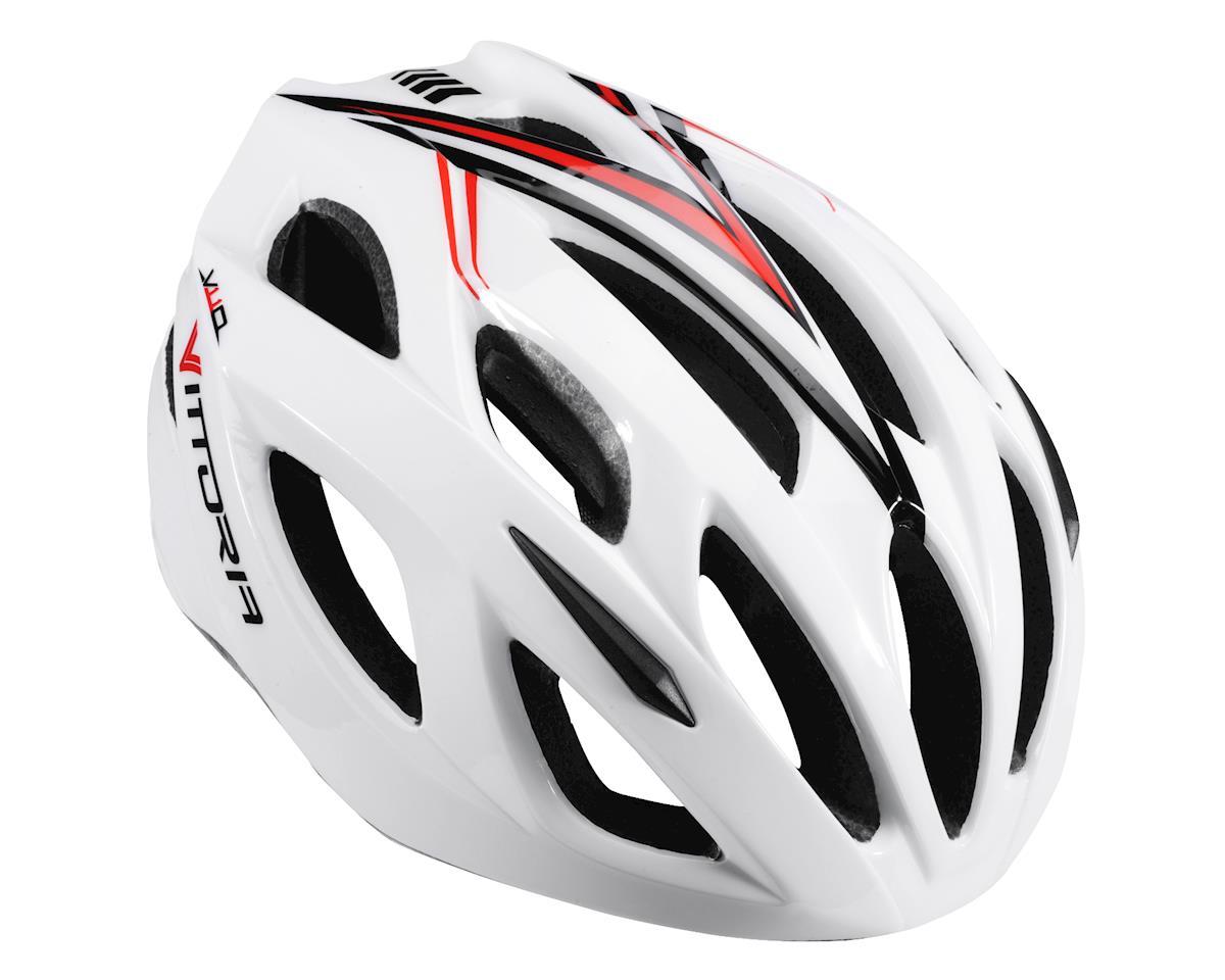 Image 1 for Vittoria V110 Helmet (White/Red/Black)