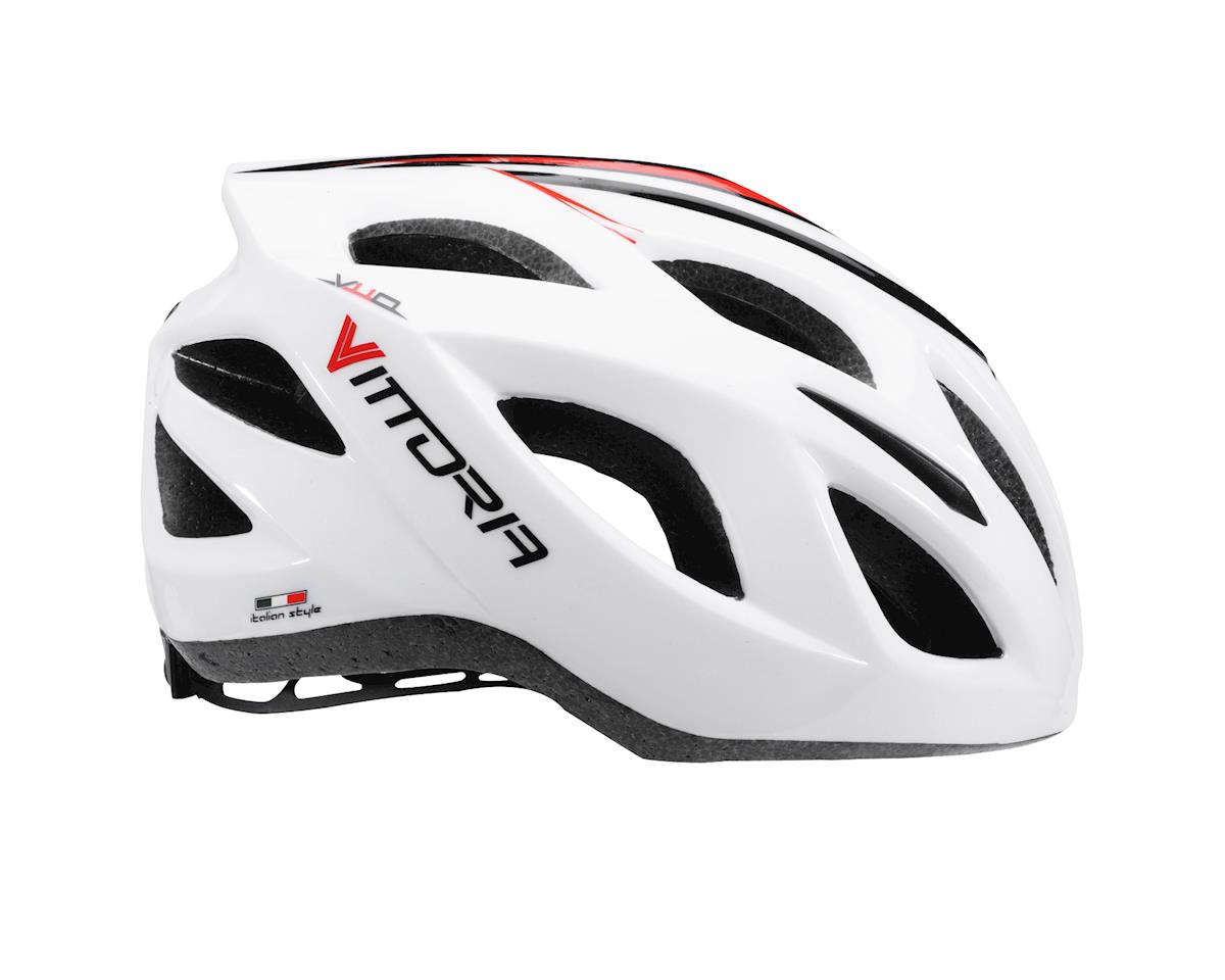 Image 2 for Vittoria V110 Helmet (White/Red/Black)