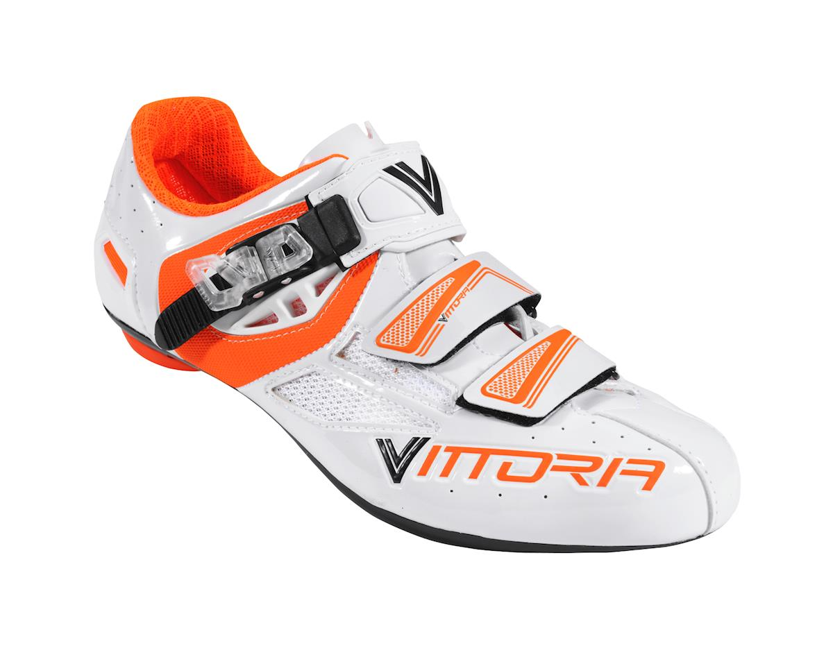 Image 1 for Vittoria Speed Road Shoes (White/Orange)