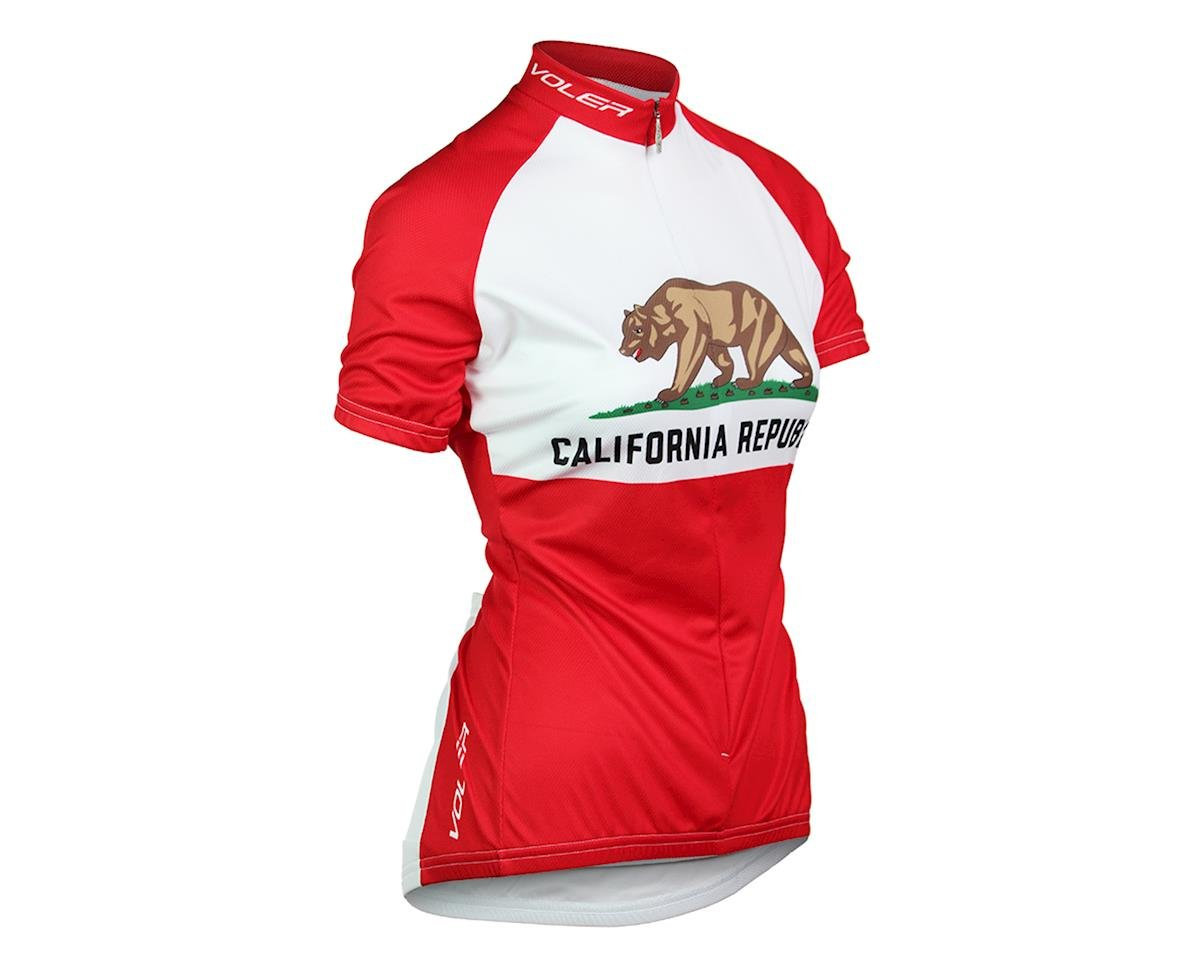 Voler California State Republic Women's Short Sleeve Jersey