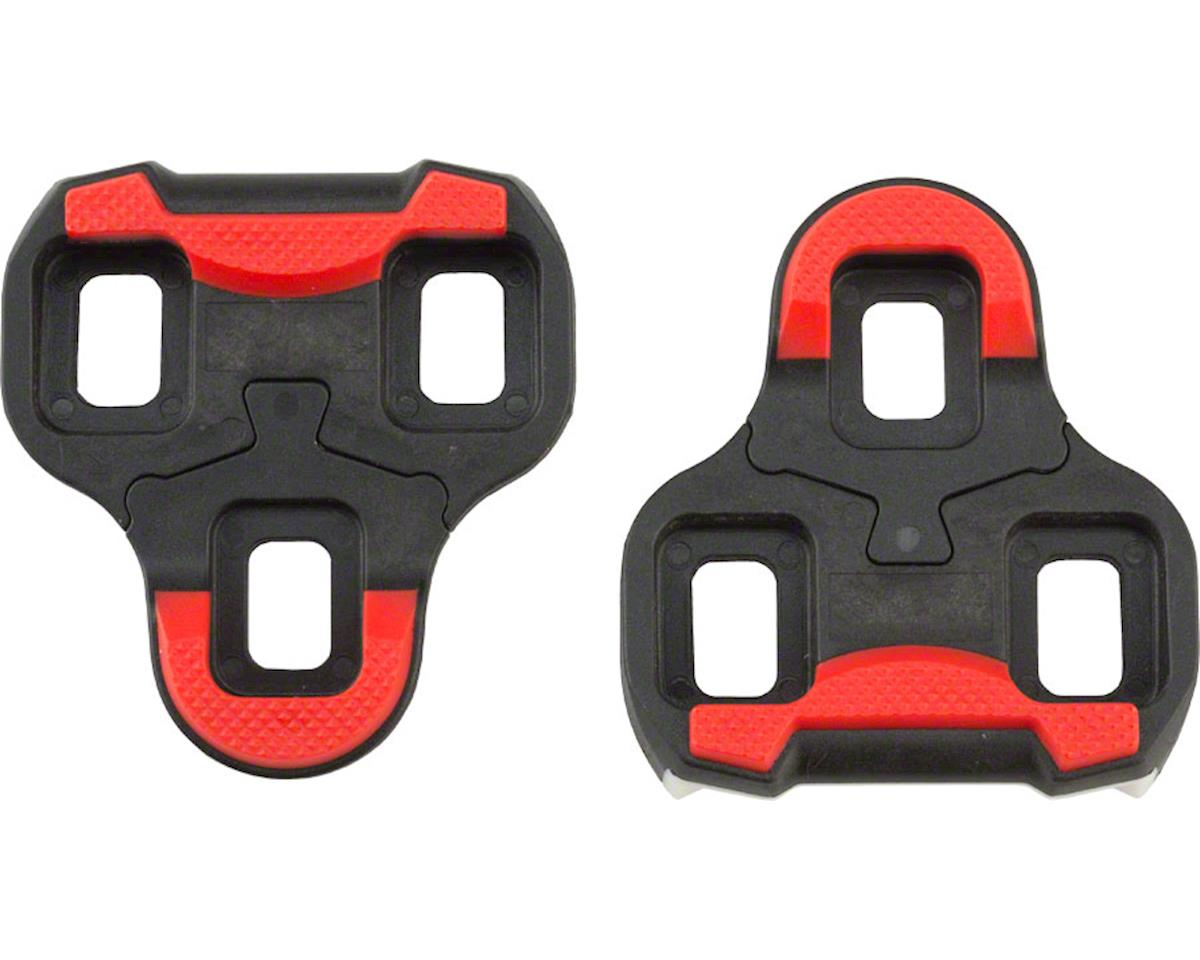 VP Components VP Arc 6 Look Keo Cleat, 9 Degree, Red/Black