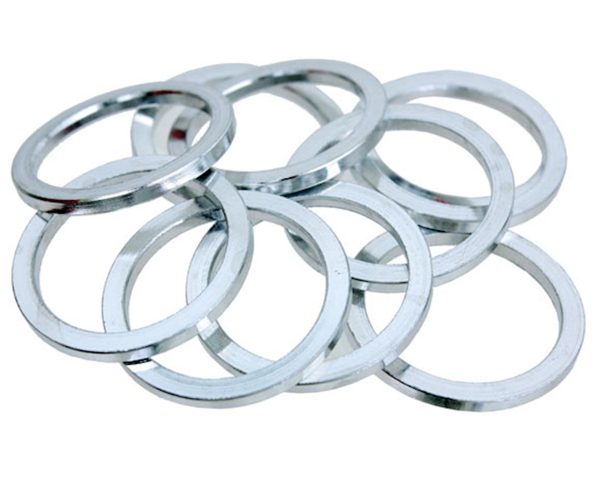 "Vuelta Aluminum Headset Spacers (Silver) (1"") (2.5mm)"