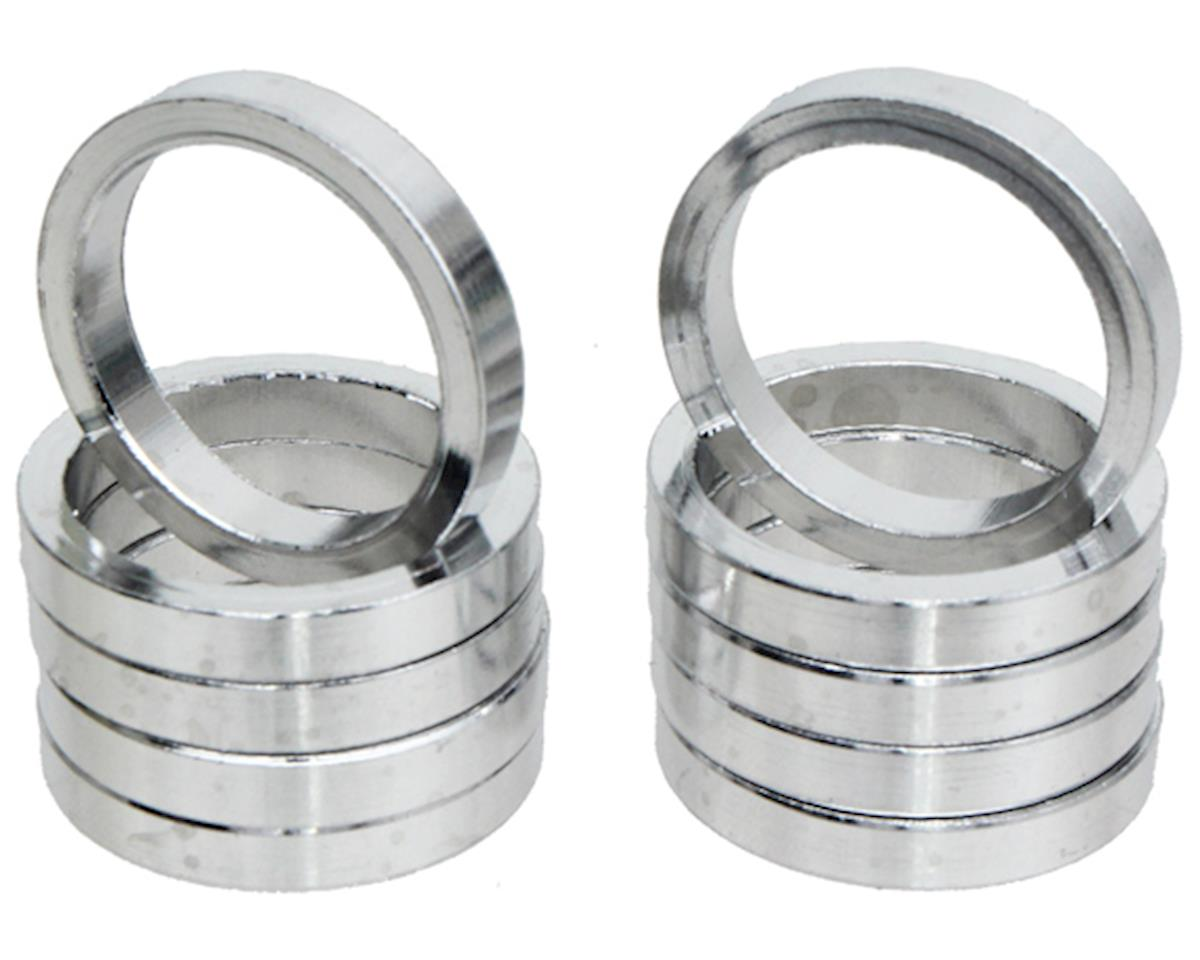 "Vuelta Aluminum Headset Spacers (Silver) (1"") (5mm)"